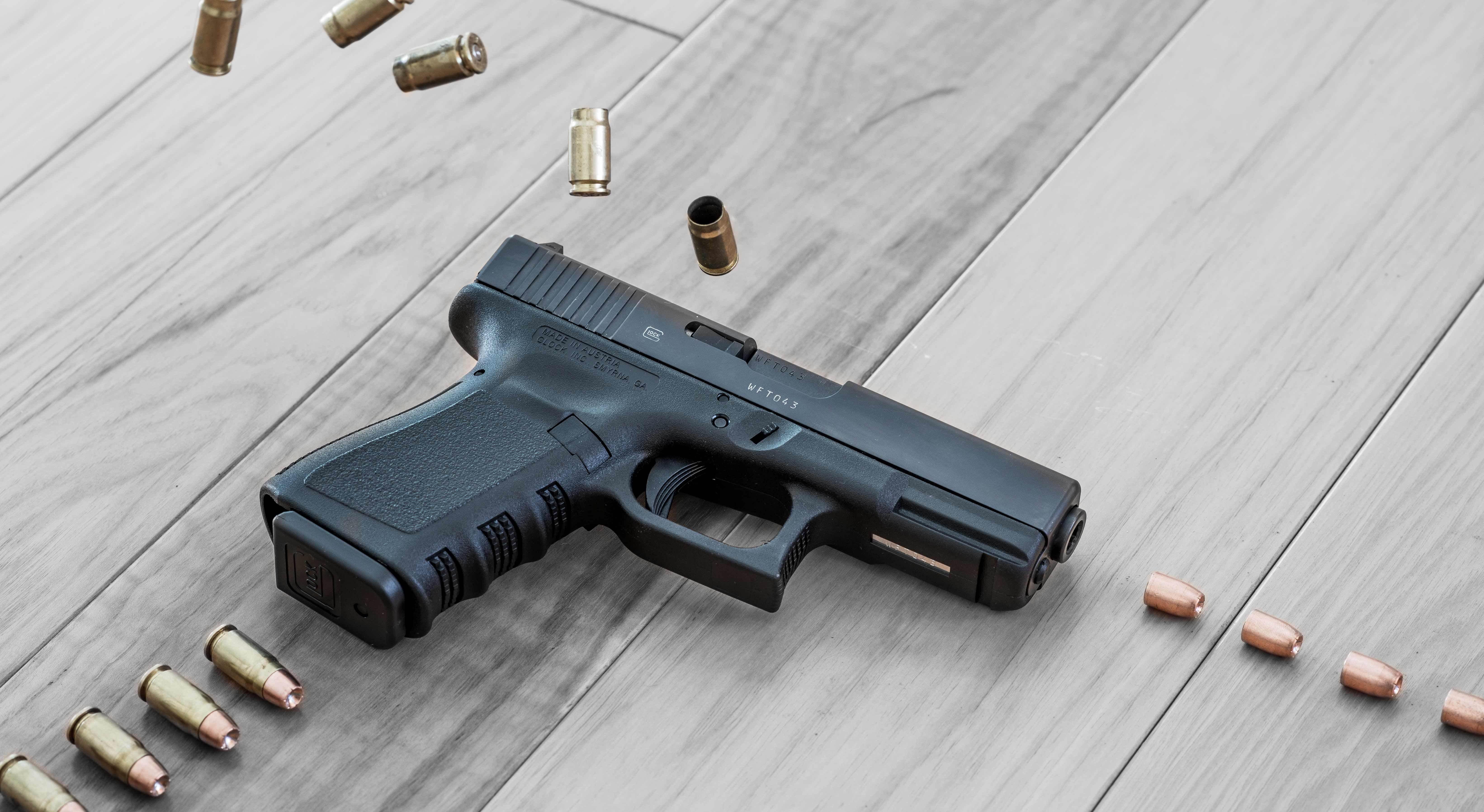 Wallpaper Glock 32 Gen4 357 SIG Firing Scheme Pistol