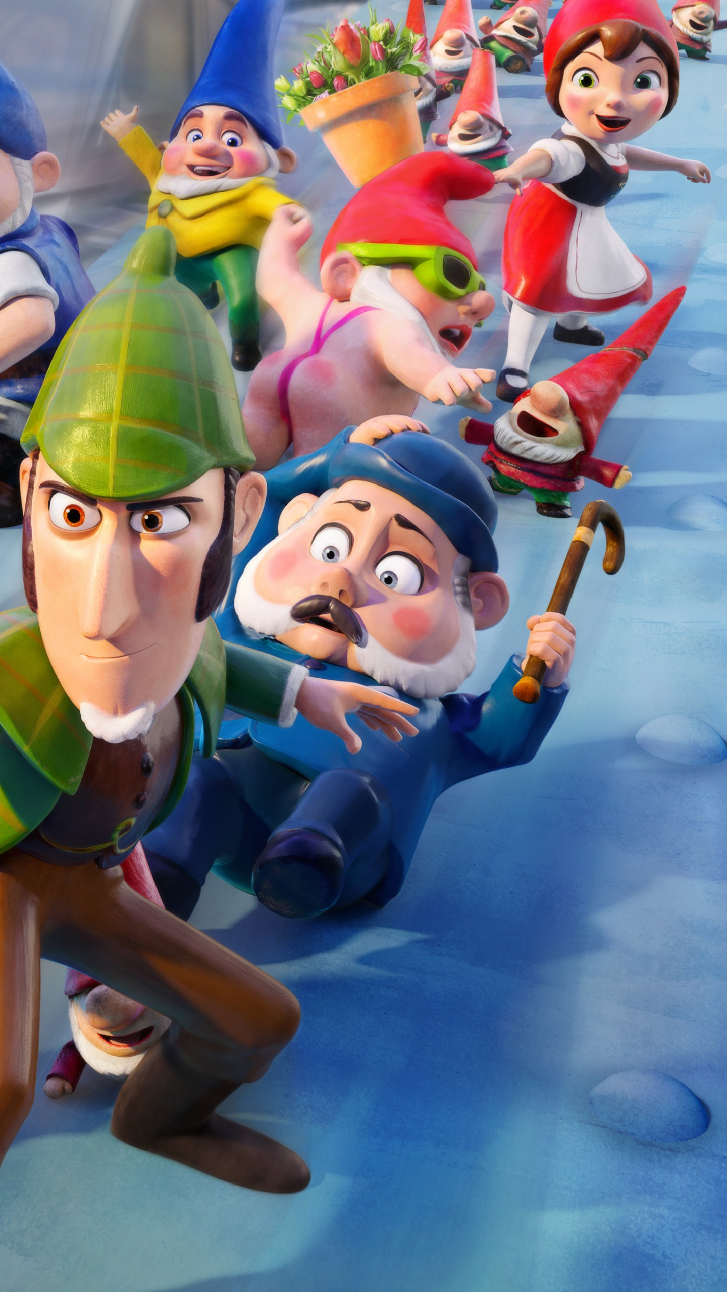 Wallpaper Gnomeo and Juliet: Sherlock Gnomes, 4k, Movies ...