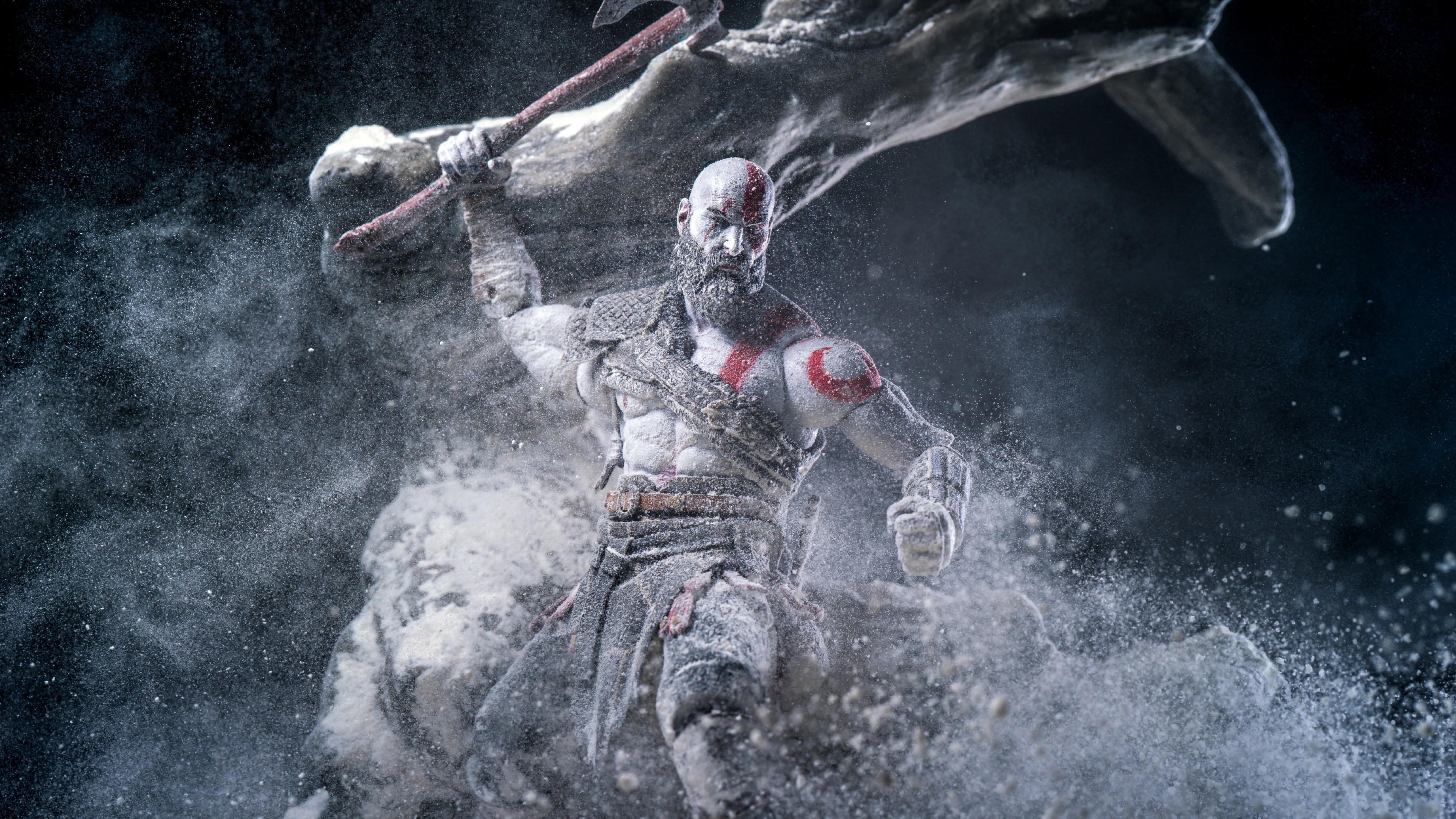Wallpaper God Of War Anger Kratos Screenshot 4k Games 18046