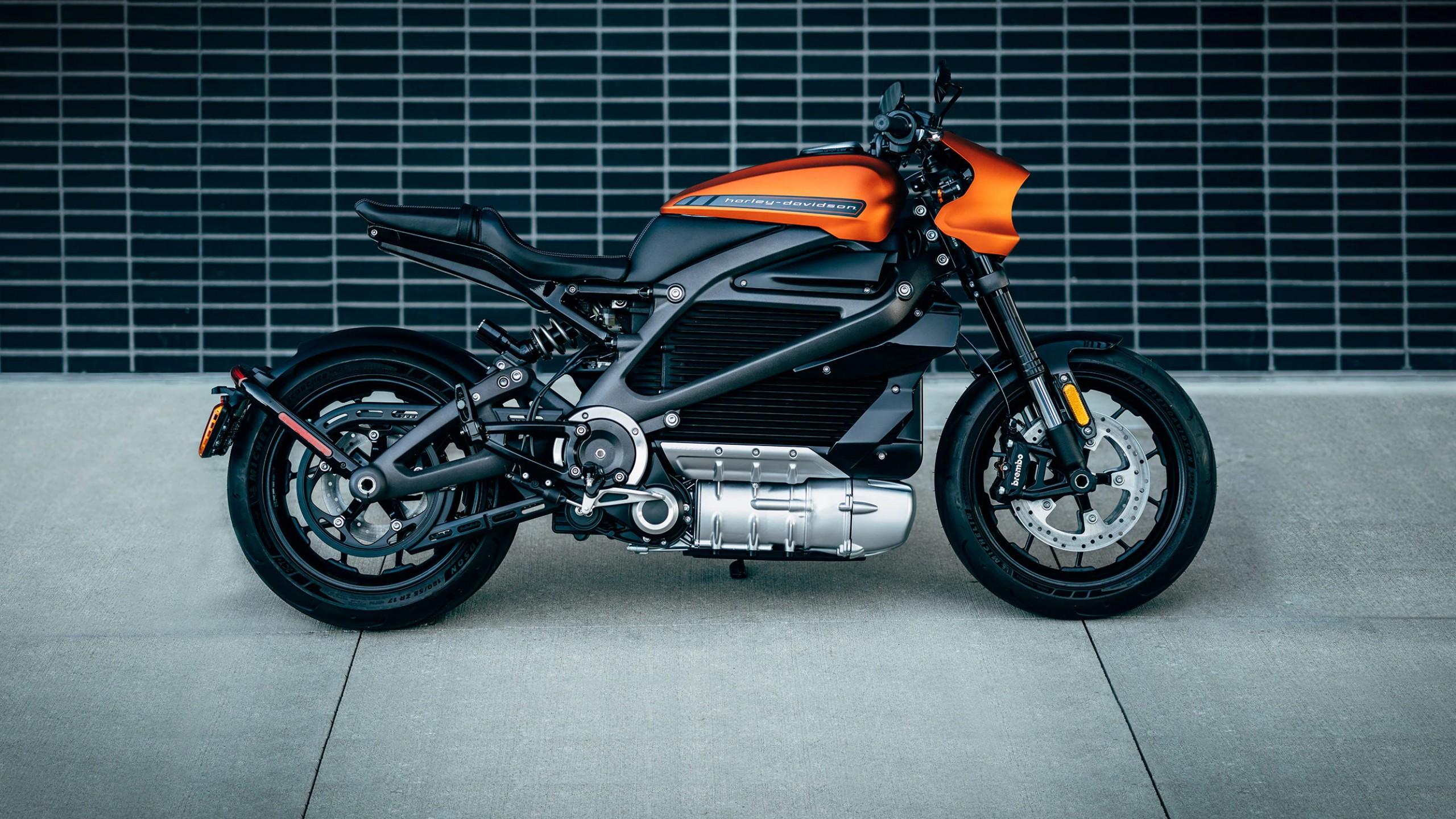 Wallpaper Harley-Davison LiveWire, Electric Bikes, 2019