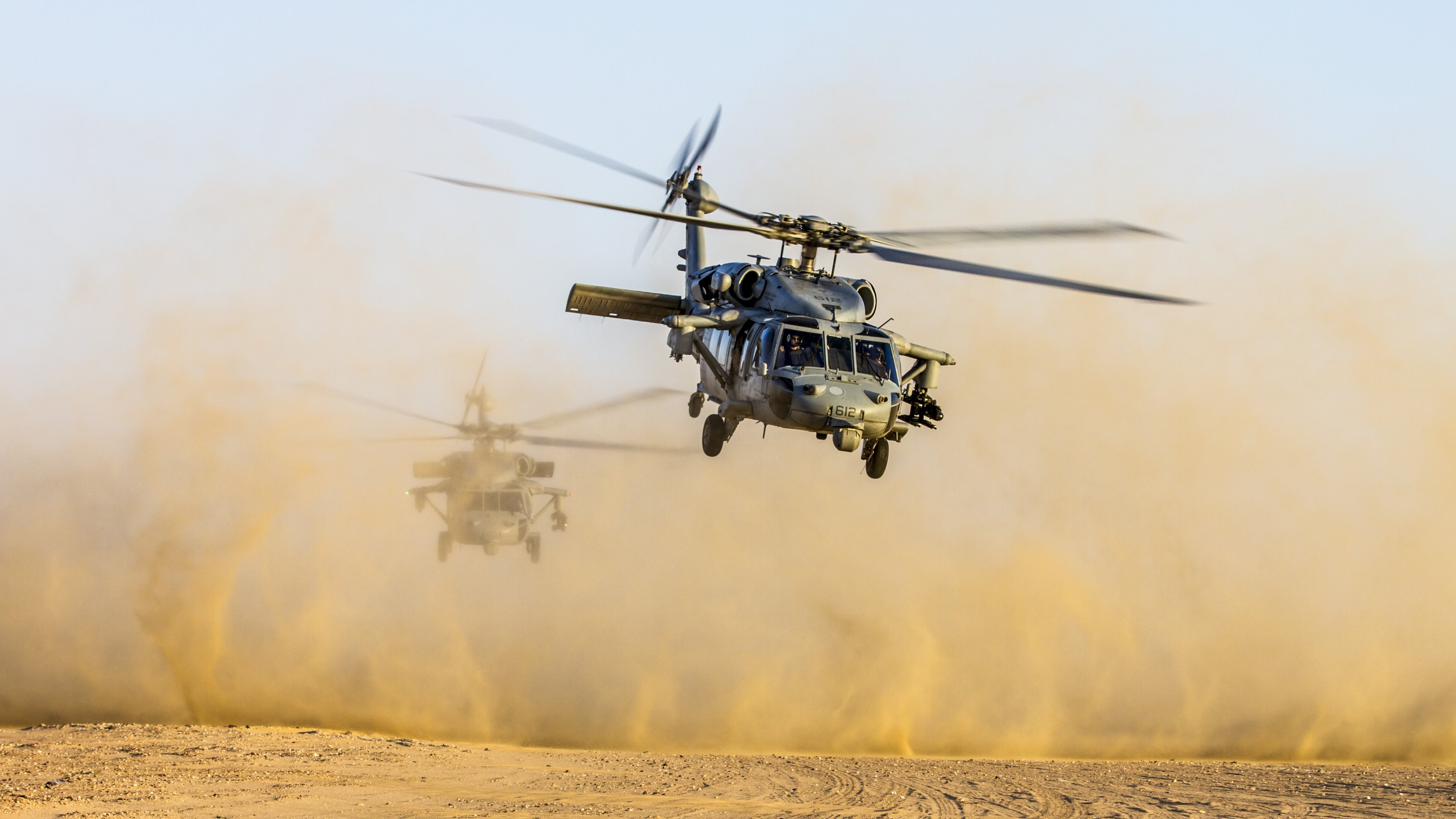 Wallpaper Helicopter Black Hawk Us Army 4k Military 17768