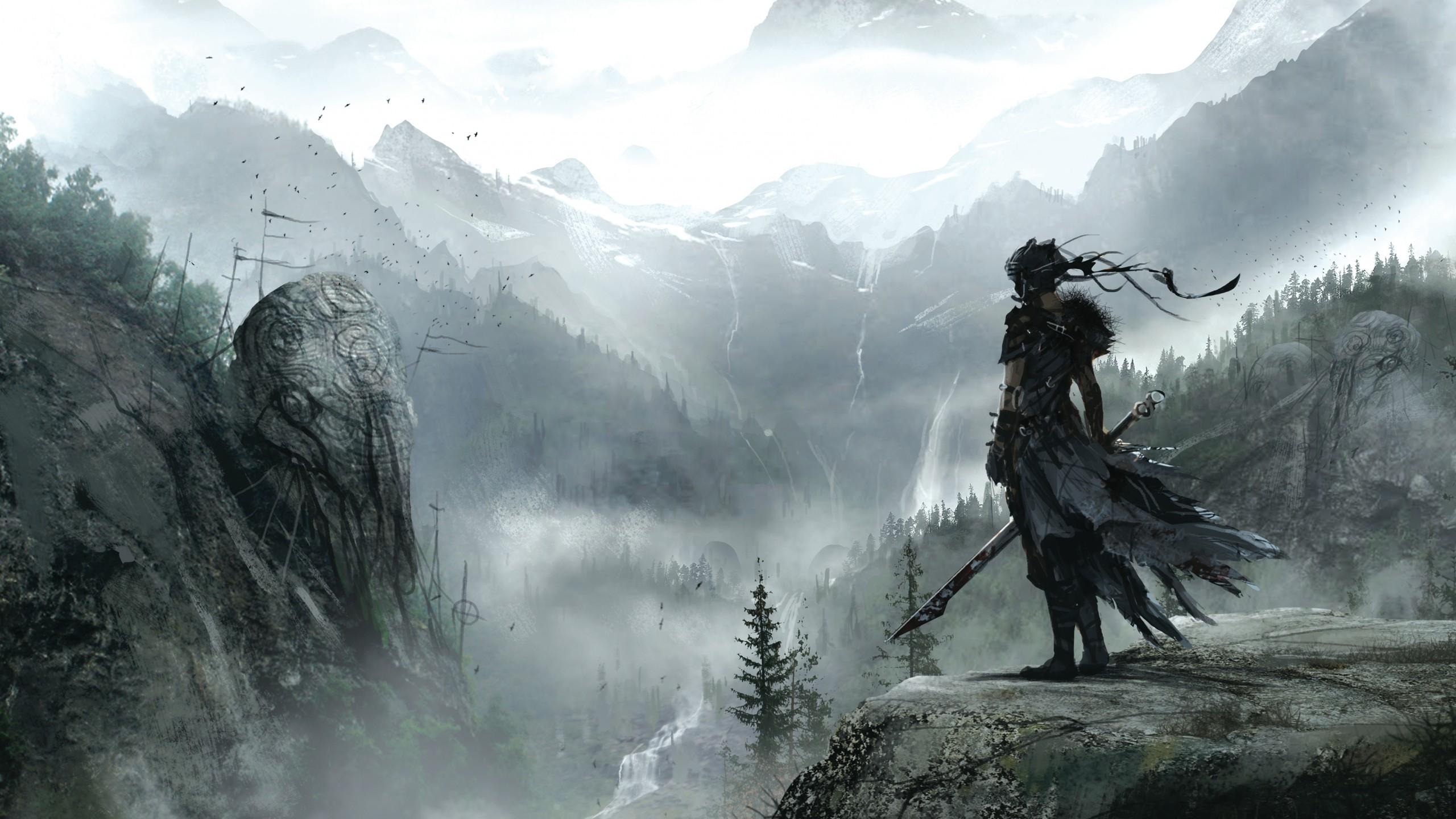 294 Best Fantasy Art 4 Images On Pinterest: Wallpaper Hellblade, Best Games, Fantasy, PC, PS4, Game