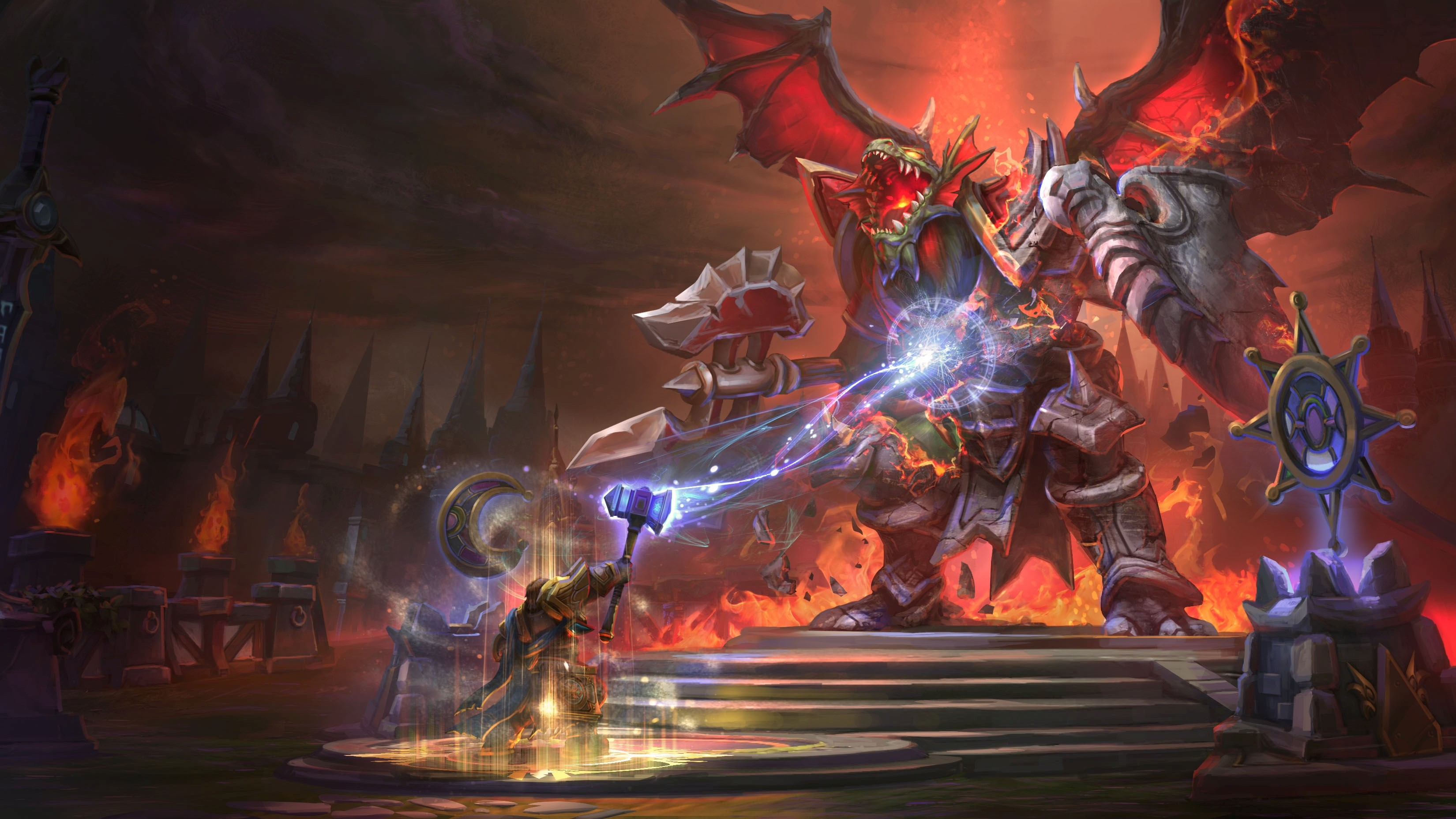 Wallpaper Heroes Of The Storm 2015 Game Fantasy Pc