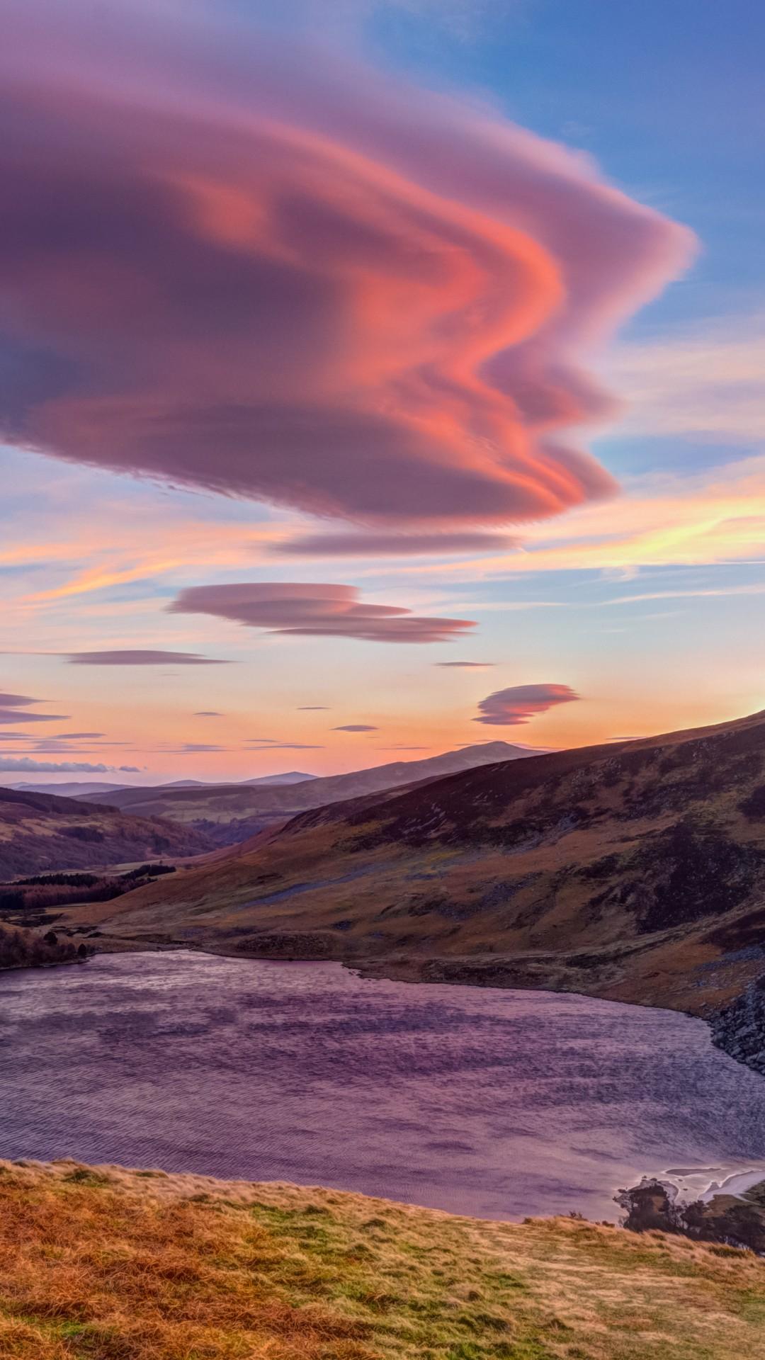 Wallpaper Hill Cloud 4k Hd Wallpaper Sky Sunset