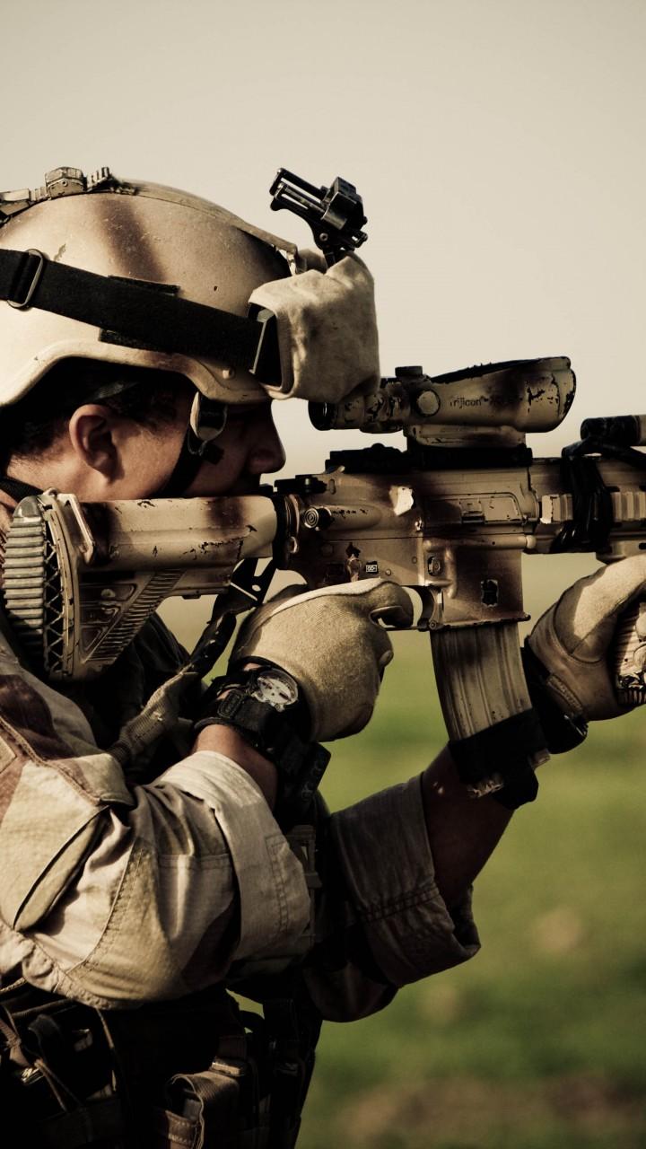 Wallpaper Hk416 Soldier Heckler Amp Koch Norwegian Army