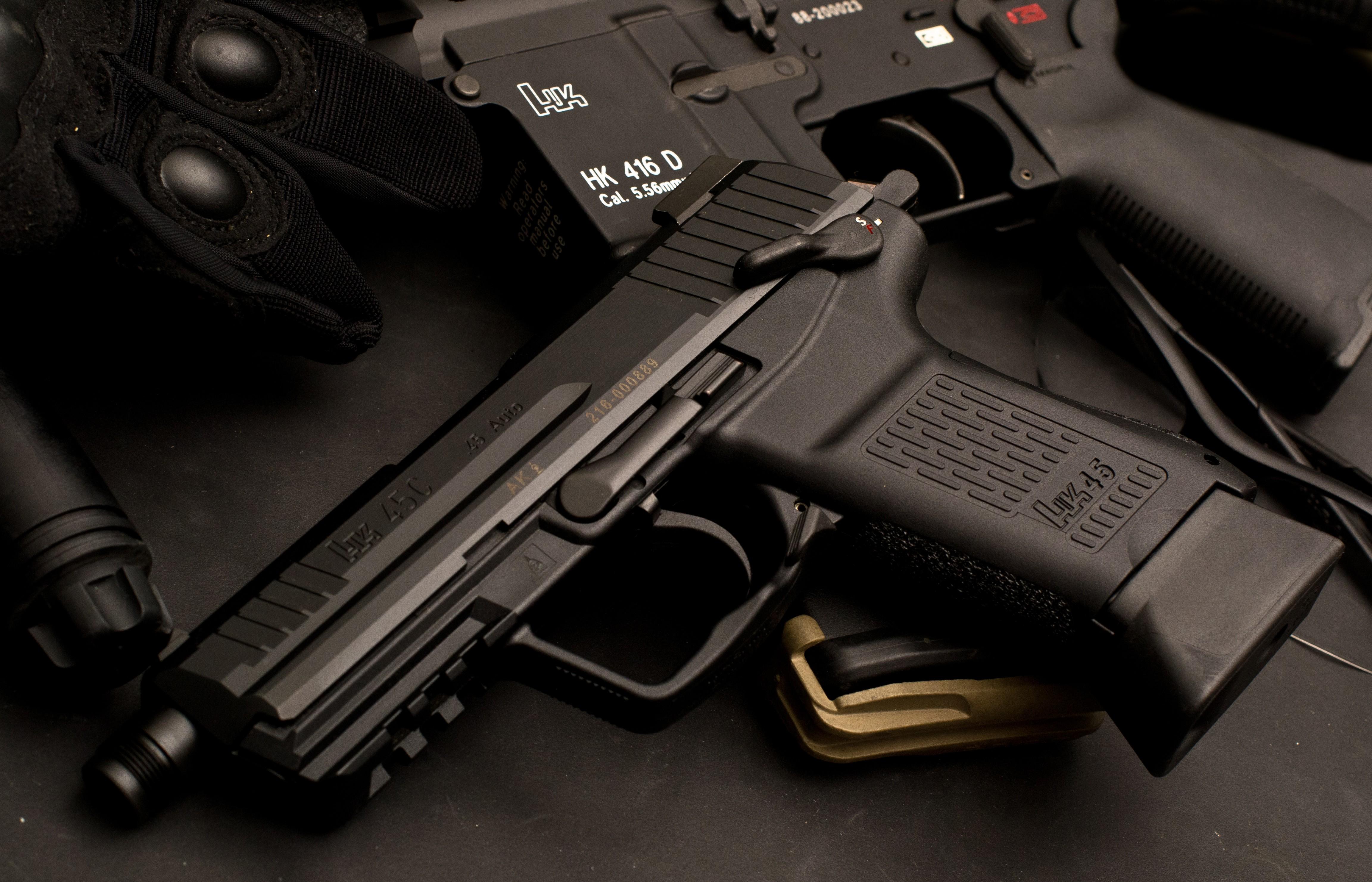 оружие Heckler Koch HK416 винтовка скачать