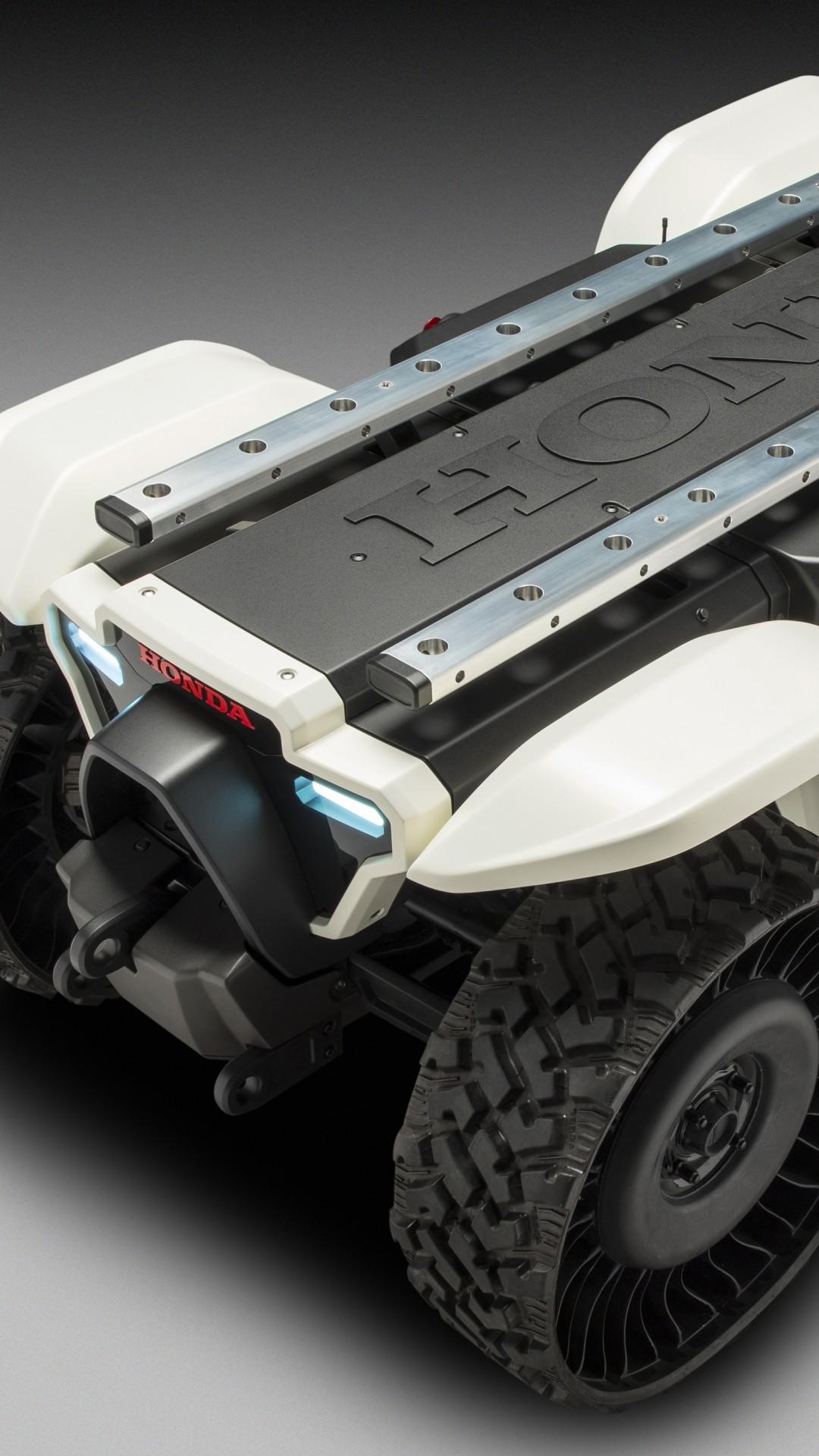 Wallpaper Honda 3E-D18, CES 2018, robot, 4k, Hi-Tech #17242