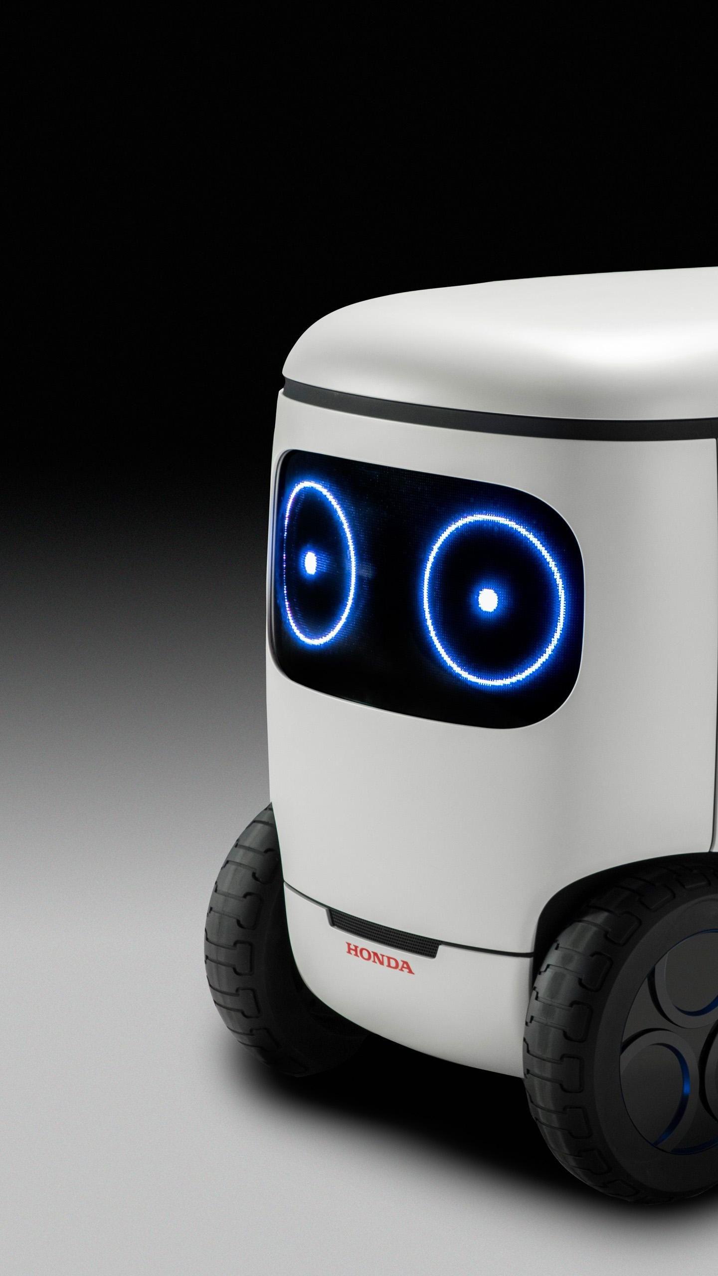 Wallpaper Honda 3E-С18, CES 2018, robot, 4k, Hi-Tech #17243