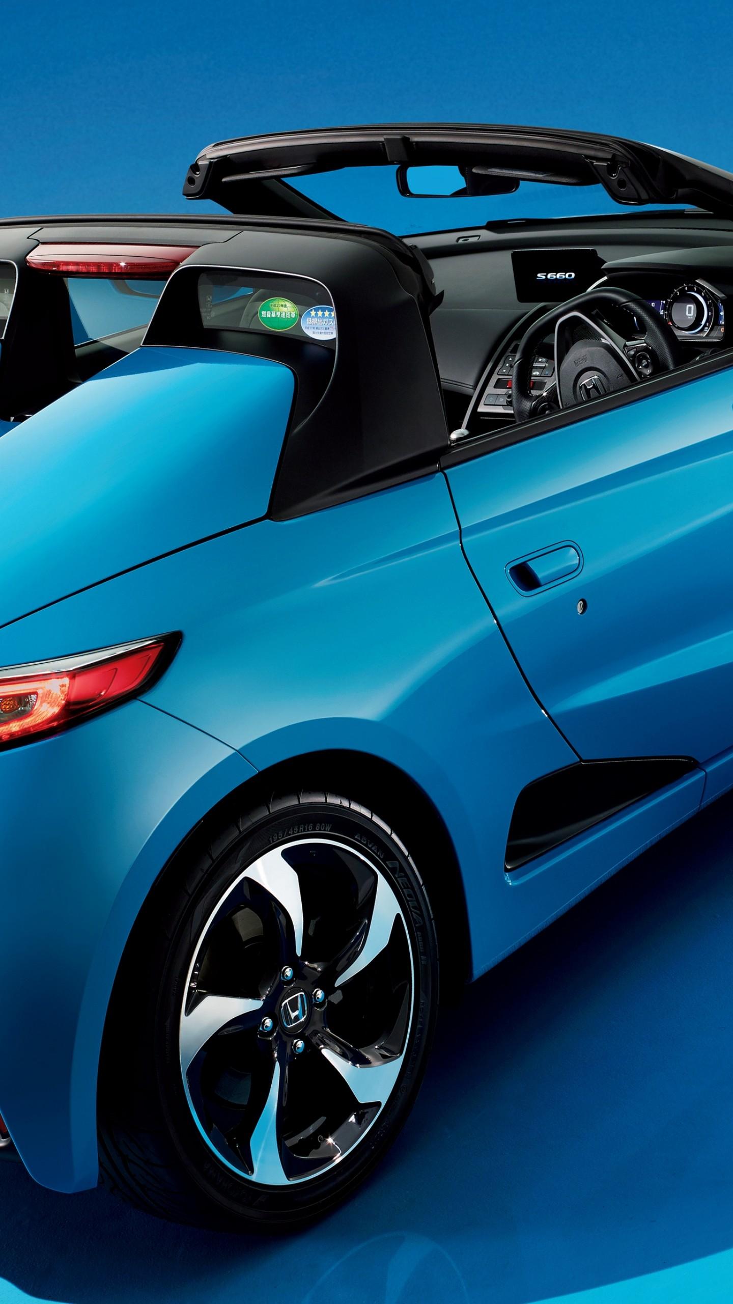 Wallpaper Honda S660, Concept, blue, future car, Tokyo ...