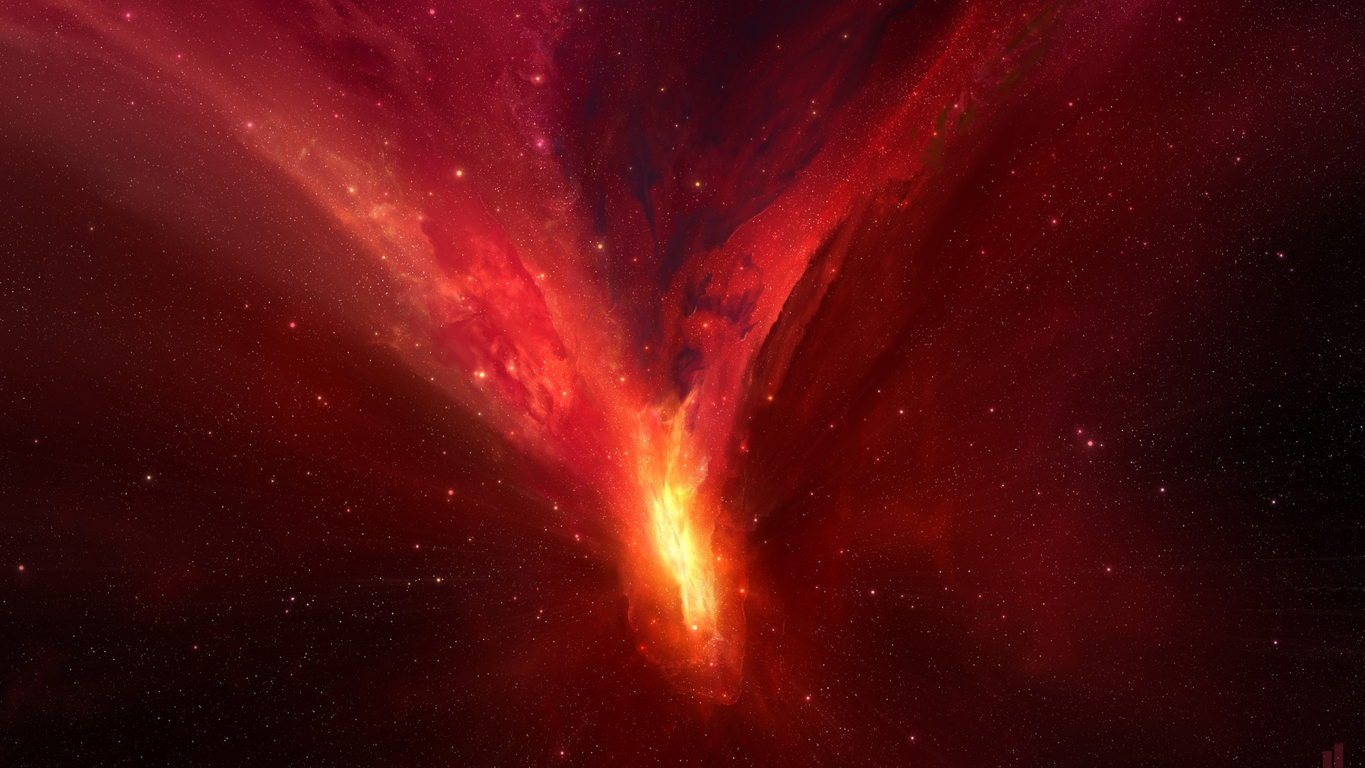Wallpaper Horsehead Nebula Red Hd Space 16828 Page 3