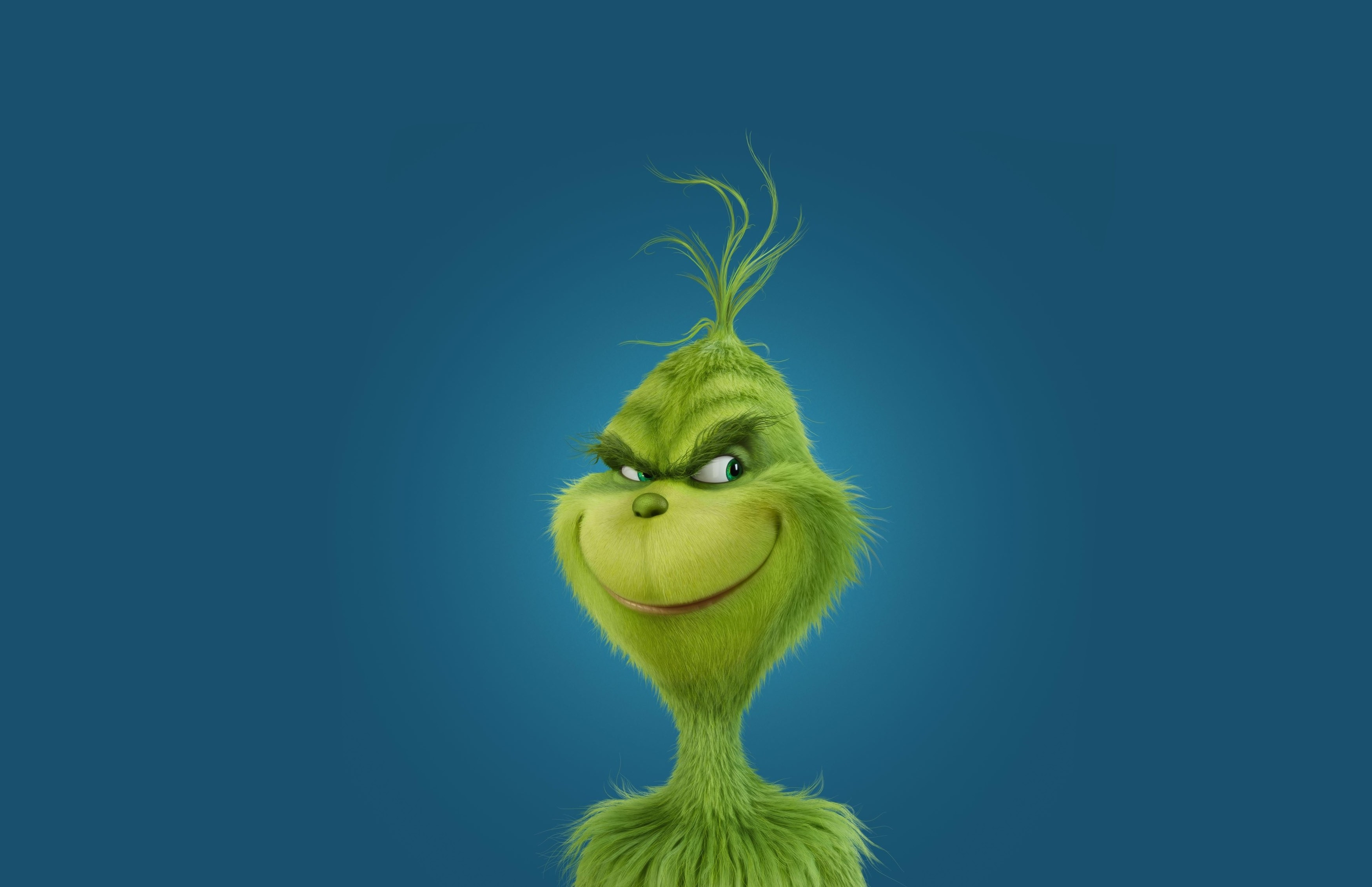Wallpaper How The Grinch Stole Christmas Green Movies 10336
