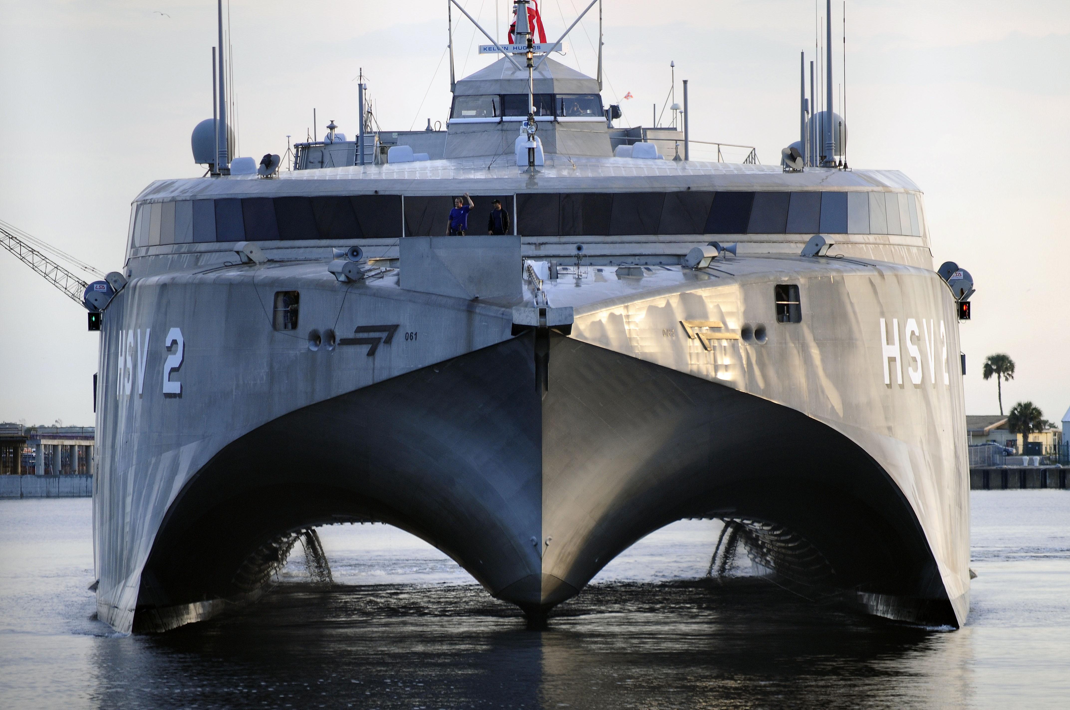 HSV-2 Swift Wallpaper, Military: HSV-2 Swift, catamaran, U.S. Navy ...