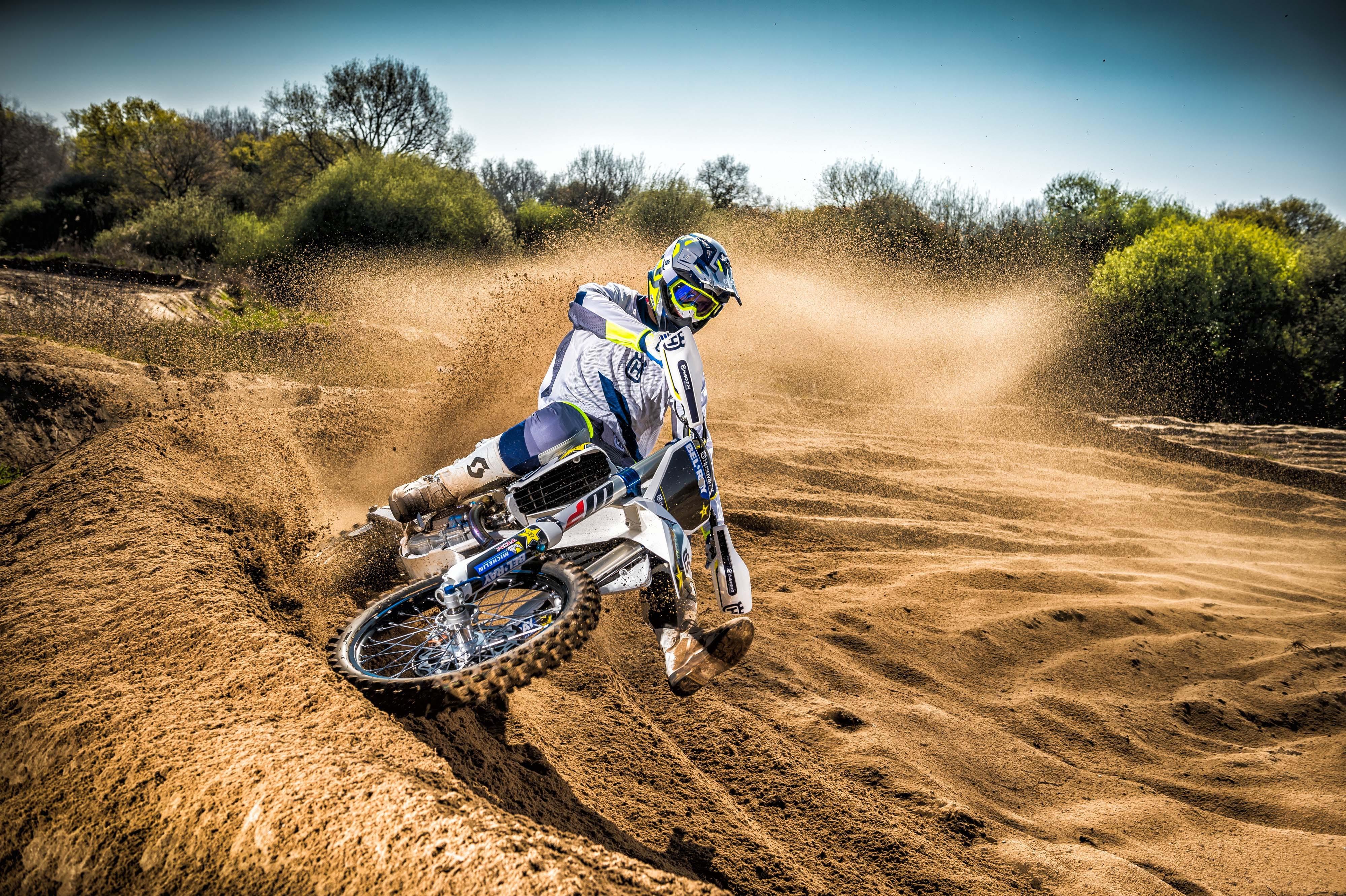 Wallpaper Husqvarna Tc250 Drift Motocross Range Unveiled