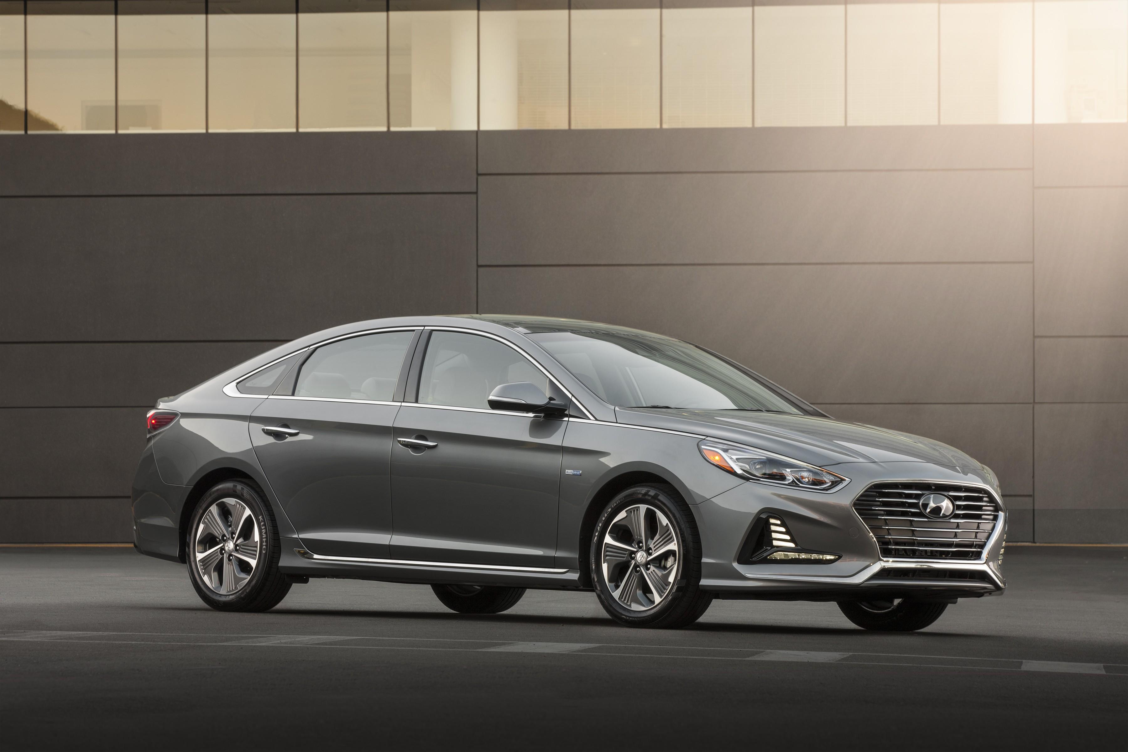 Wallpaper Hyundai Sonata Hybrid, 2018 Cars, 4k, Cars ...
