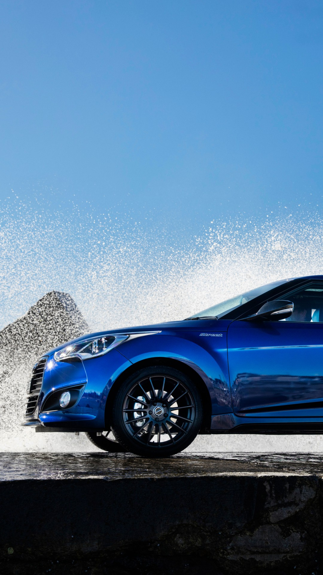 Wallpaper Hyundai Veloster Quot Street Quot Turbo Blue Cars
