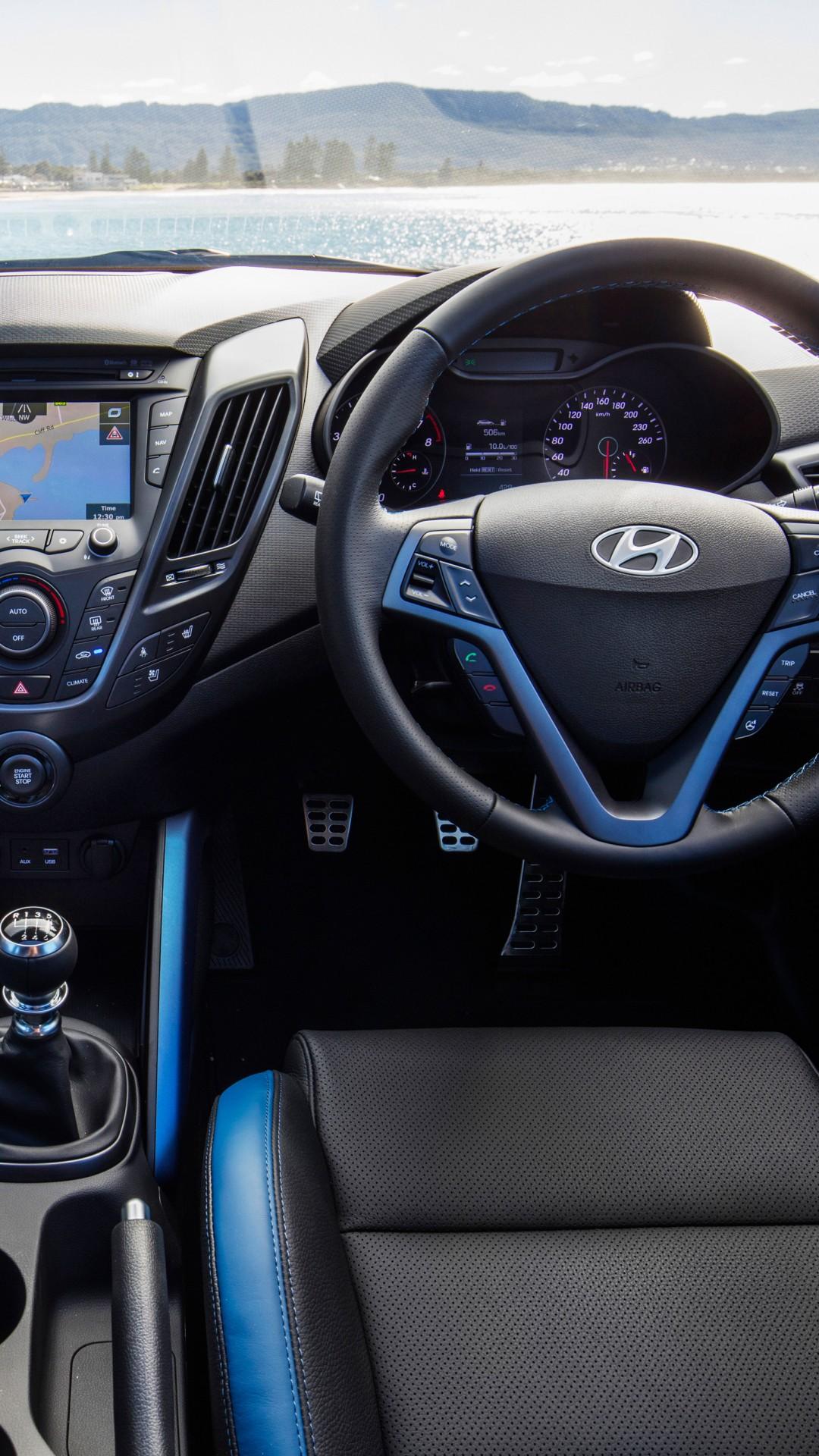 Wallpaper Hyundai Veloster Quot Street Quot Turbo Blue Interior