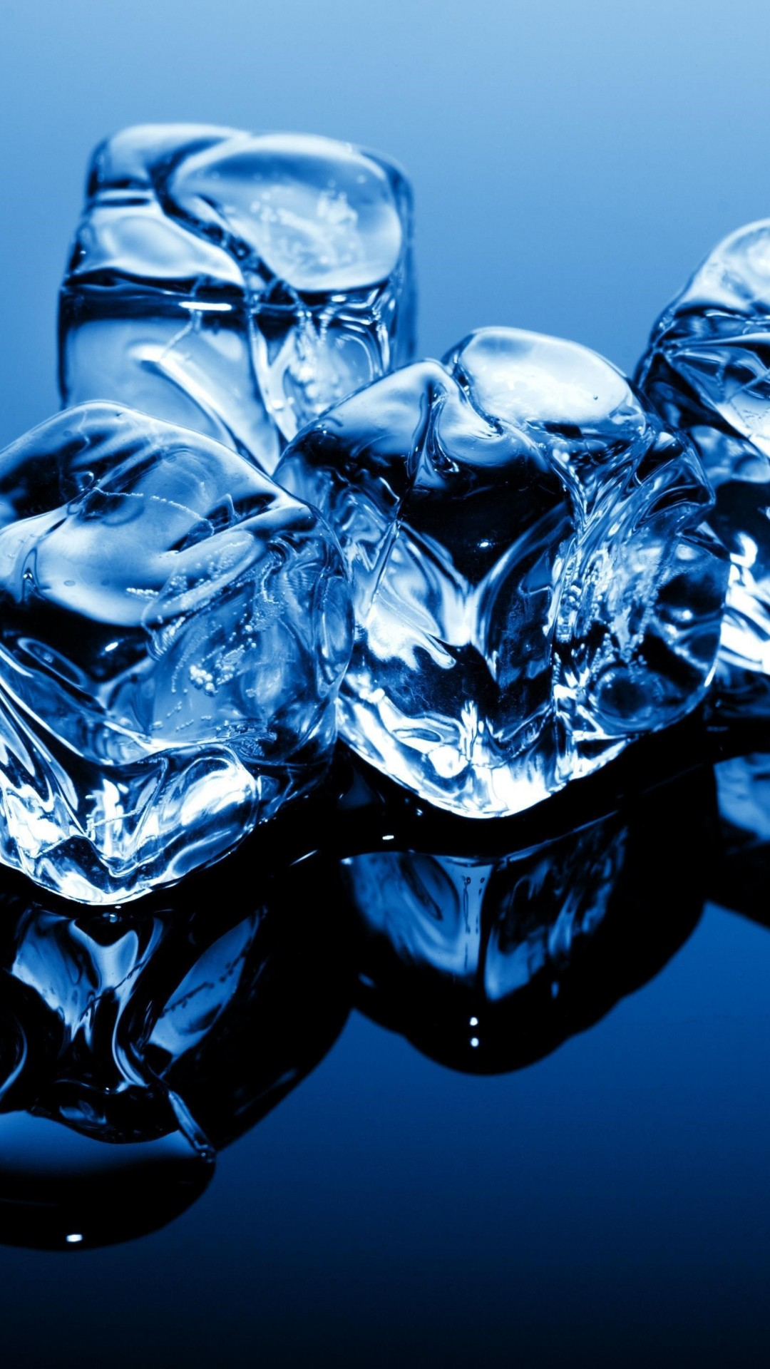 Wallpaper Ice, 4k, 5k Wallpaper, Cubes, Blue, Frozen