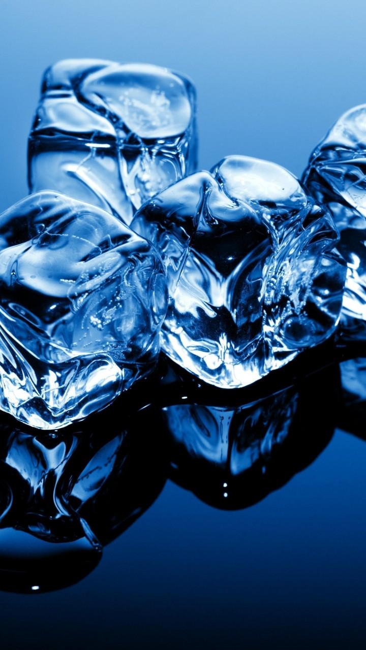 Wallpaper Ice 4k 5k Wallpaper Cubes Blue Frozen