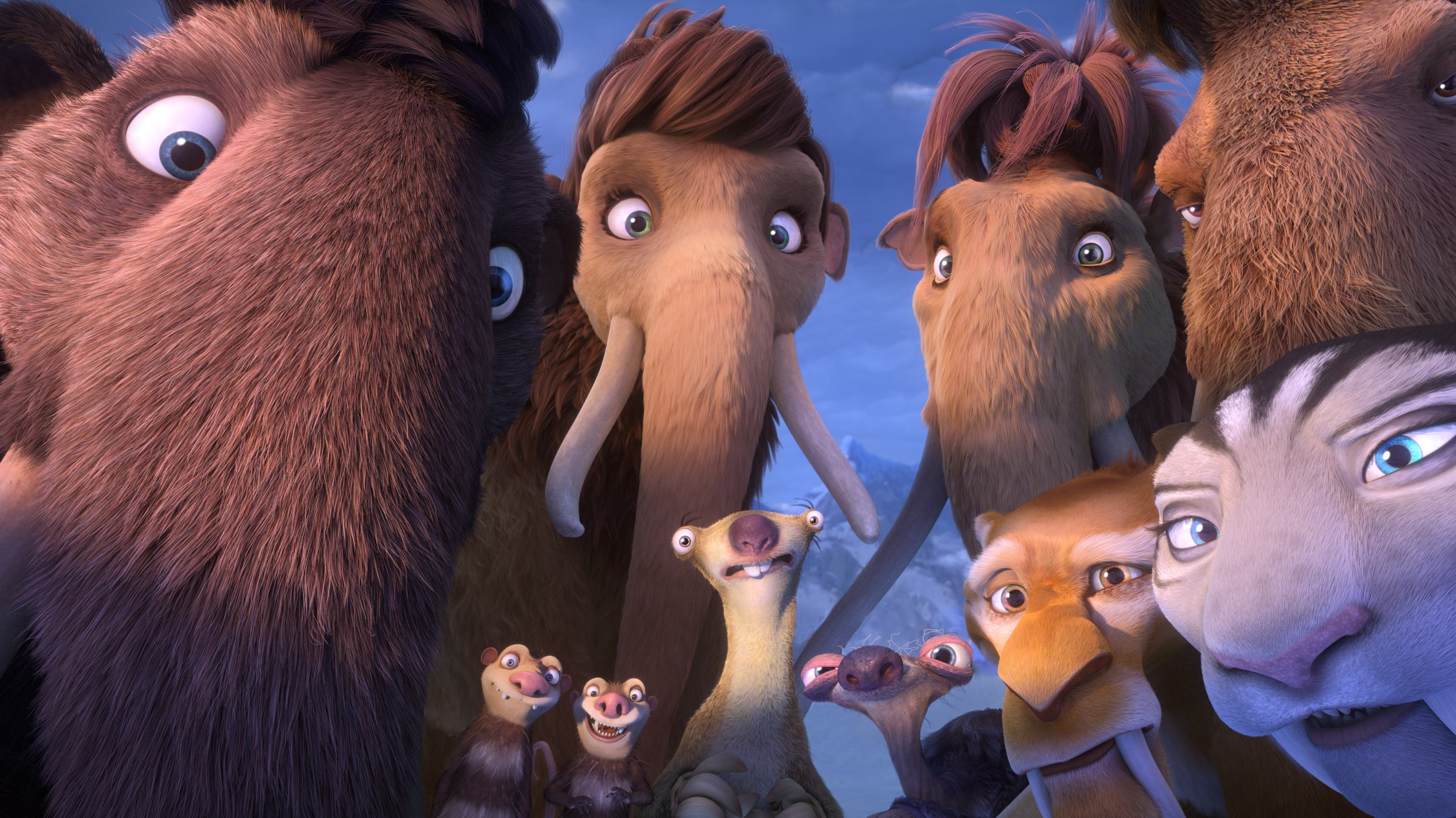 Wallpaper Ice Age 5 Collision Course Mammoths Best Animations