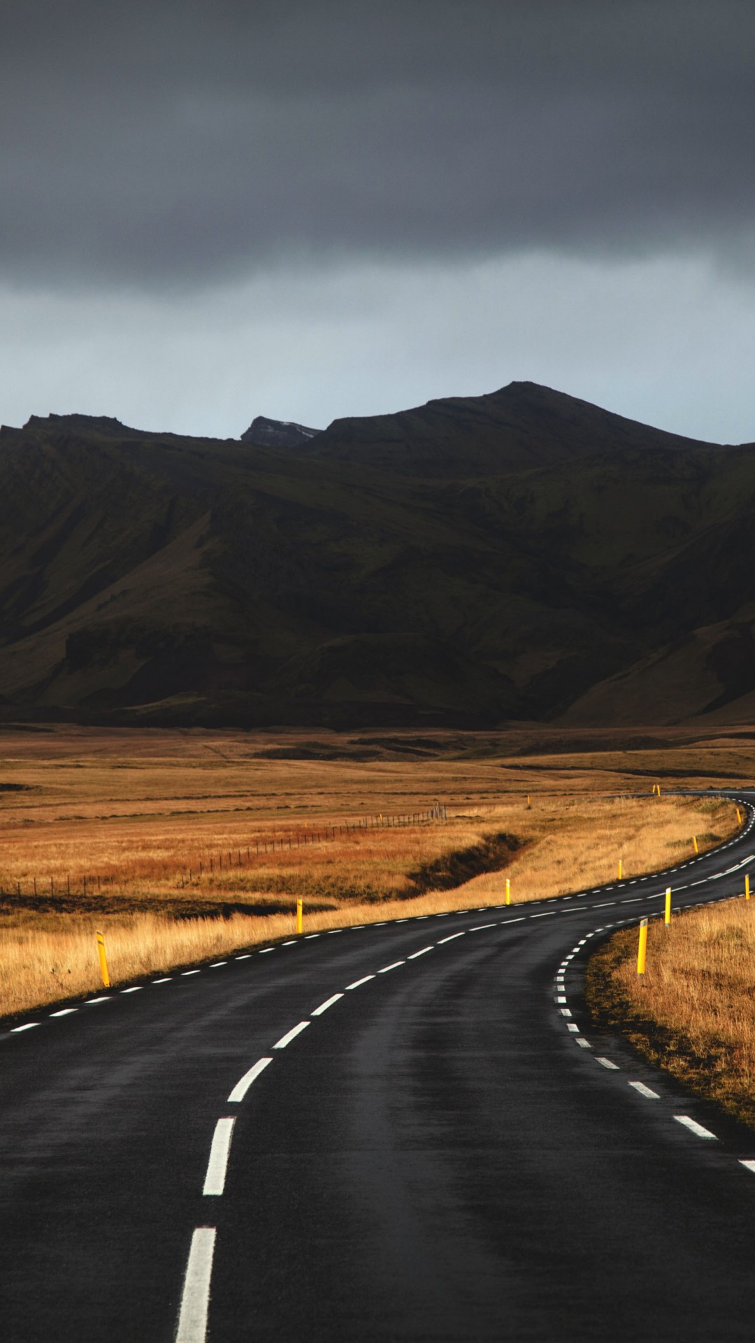 Wallpaper Iceland 4k 5k Road Mountains