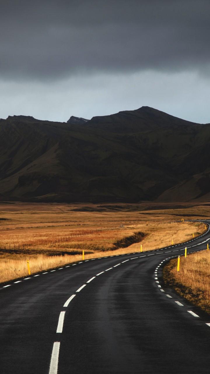 Wallpaper Iceland 4k 5k Wallpaper Road Mountains