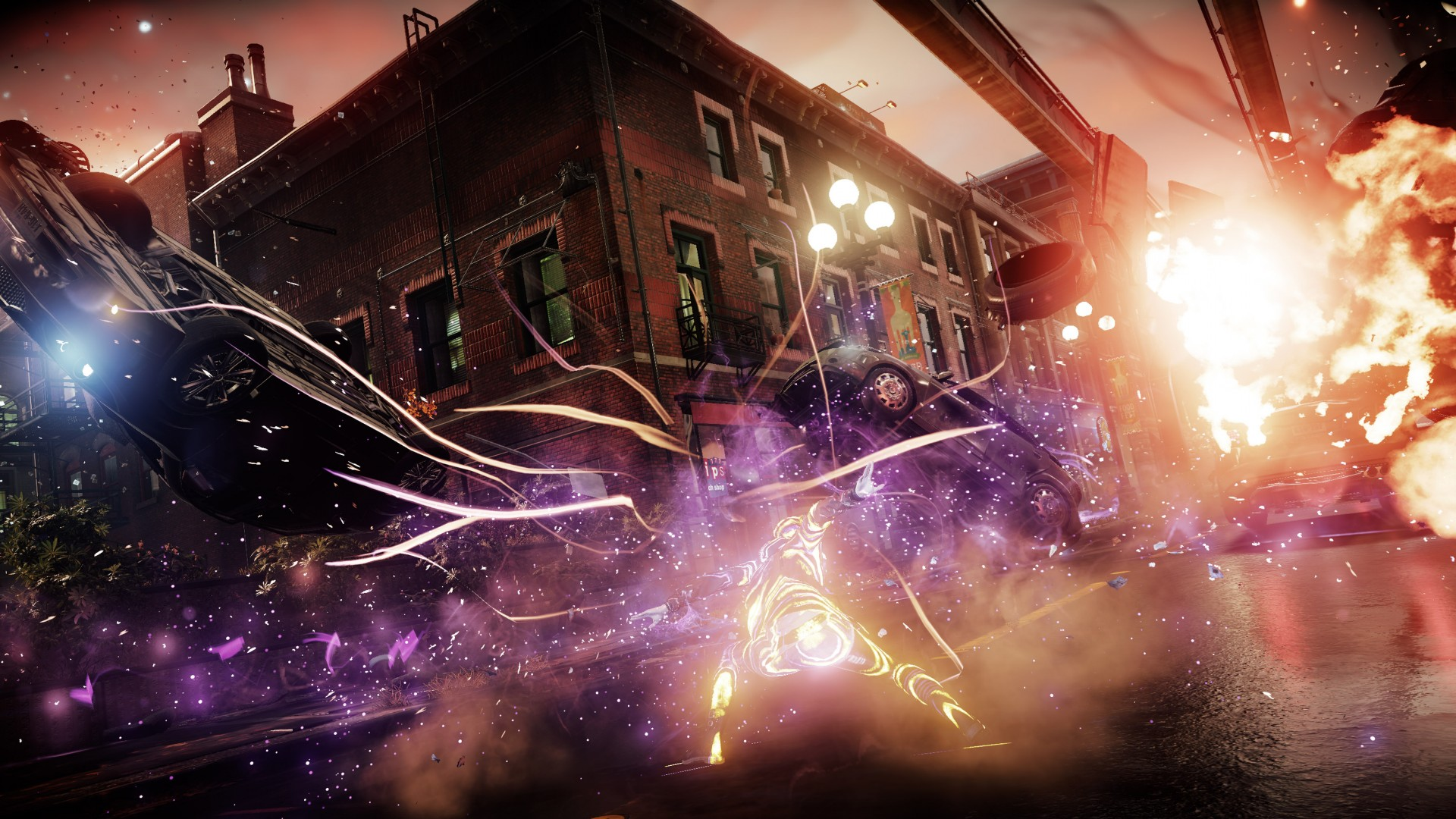 Wallpaper Infamous Second Son First Light Ps4 Pro Games 12466