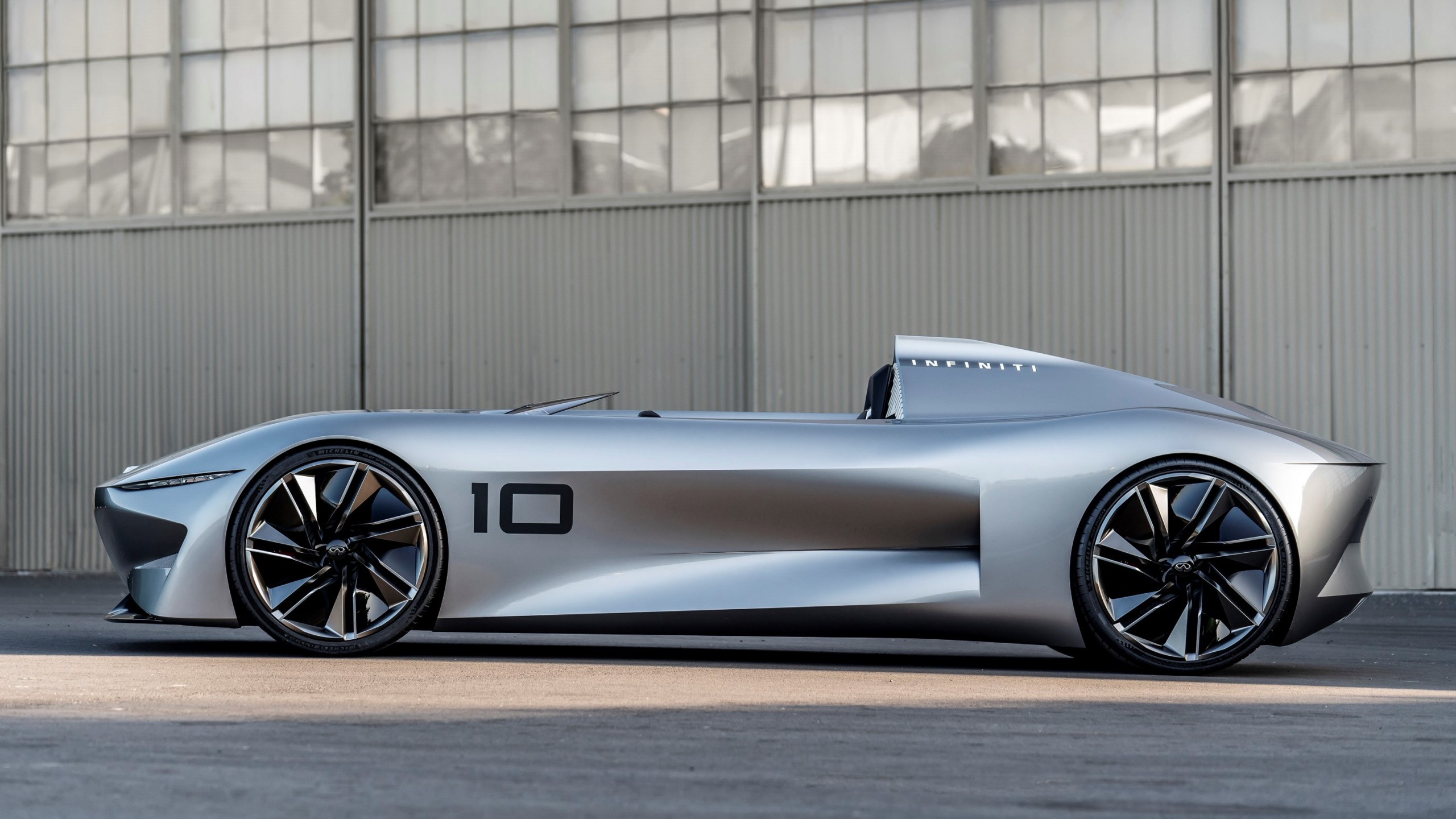Wallpaper Infiniti Prototype 10 Concept, 2018 Cars