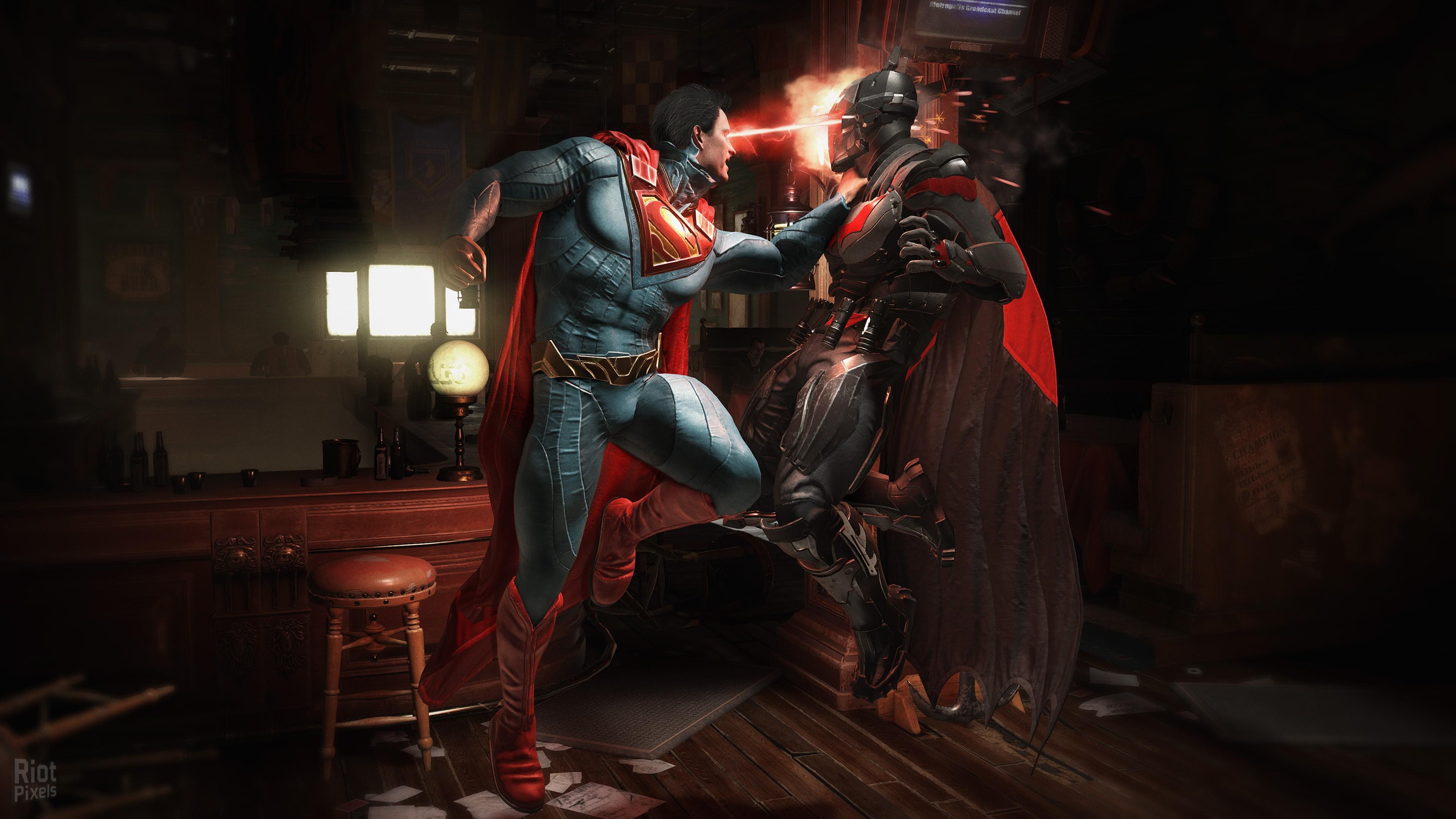 Wallpaper Injustice 2 Atrocitus Fighting Pc Playstation Ps4