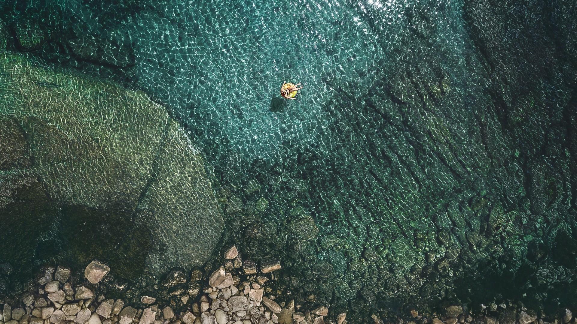 Ios 7 Iphone Wallpaper: Wallpaper IOS 11, 4k, Sea, OS #13659