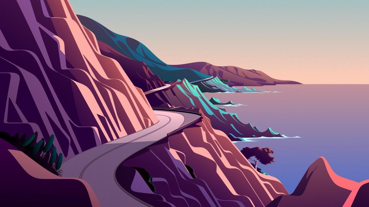 Wallpaper iOS 14.2, artwork, day, 4K, OS #23212