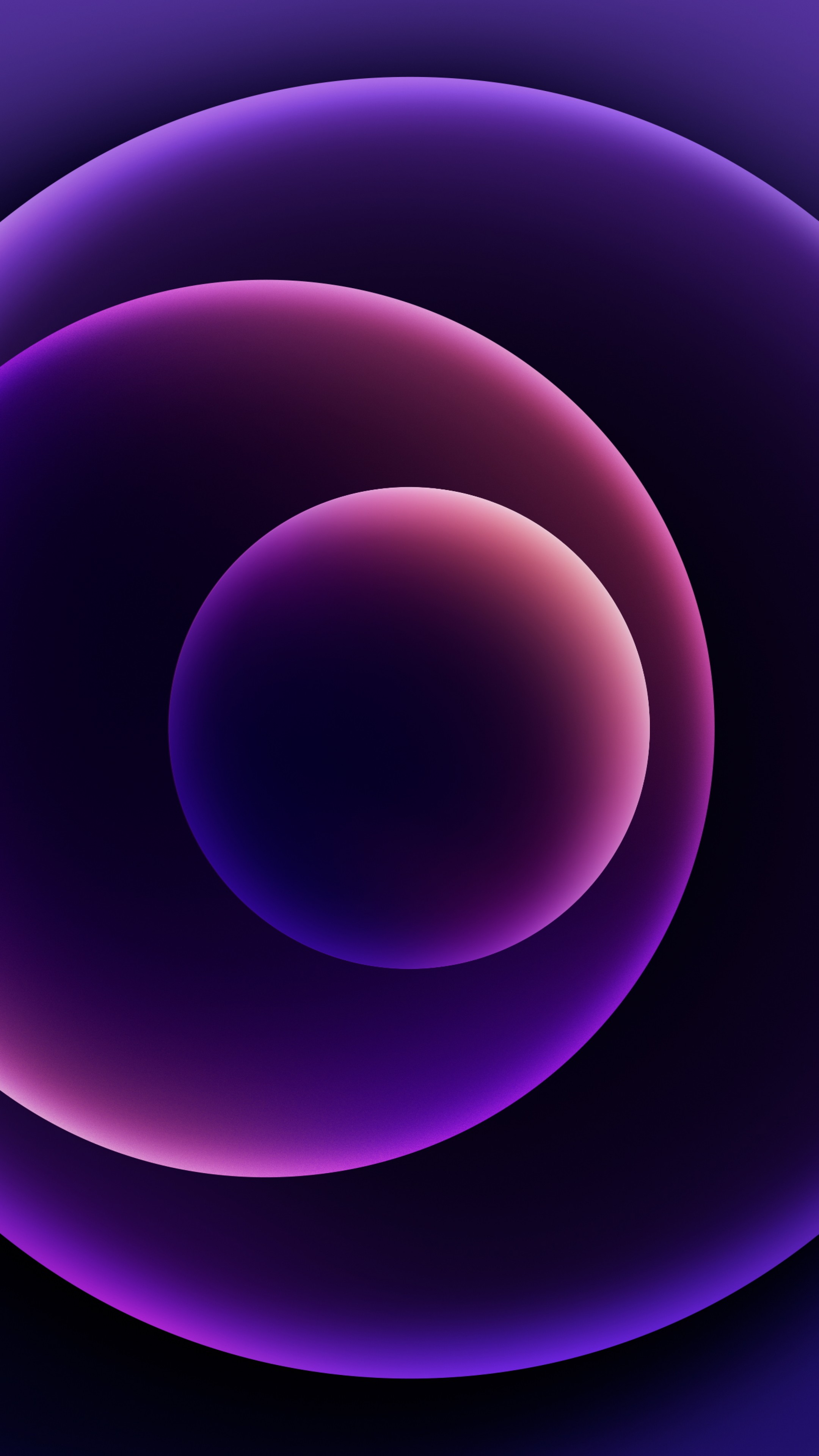 Wallpaper iPhone 12, purple, abstract, Apple April 2021 ...