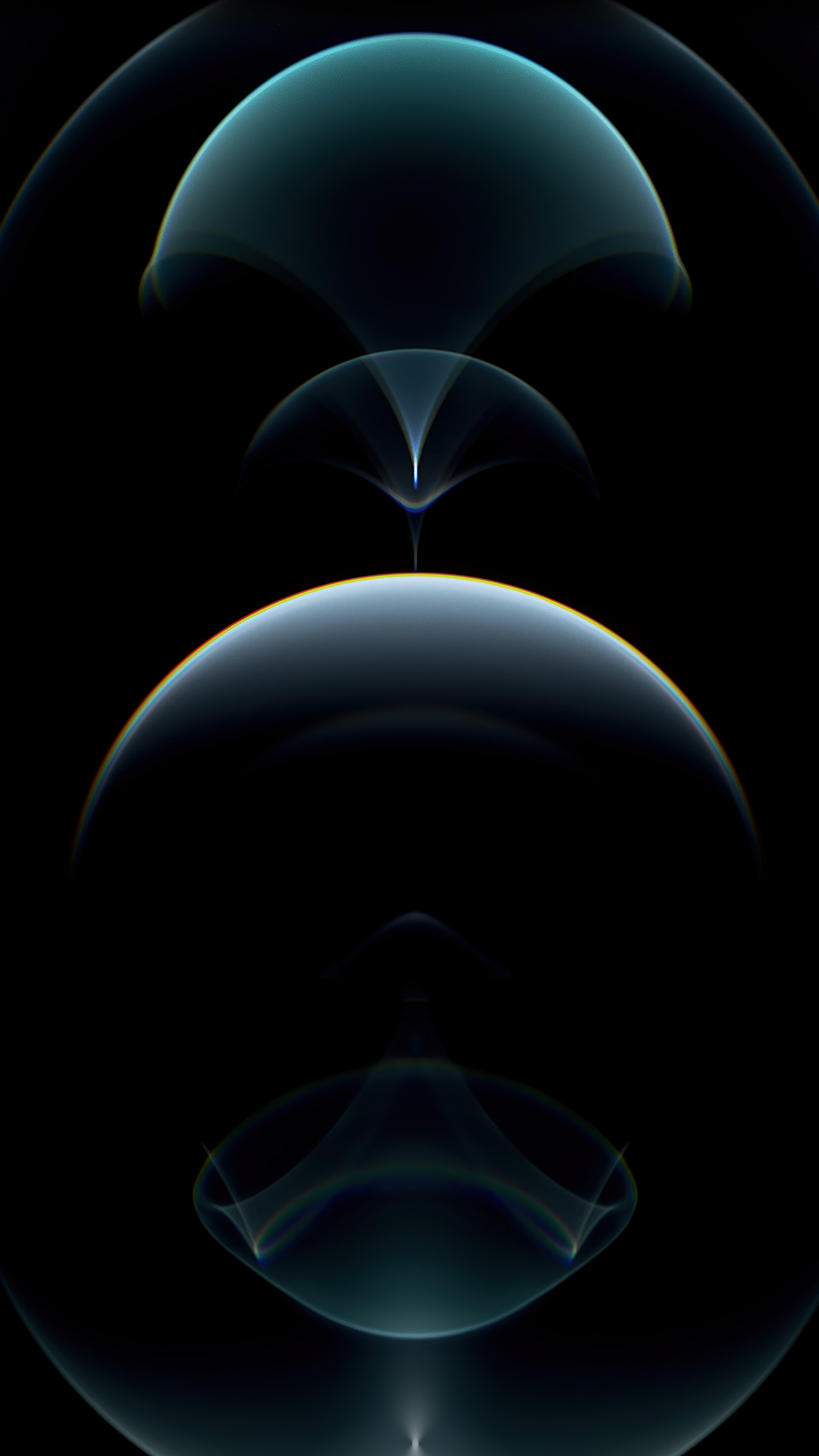 Wallpaper Iphone 12 Pro Silver Abstract Apple October 2020 Event 4k Os 23104