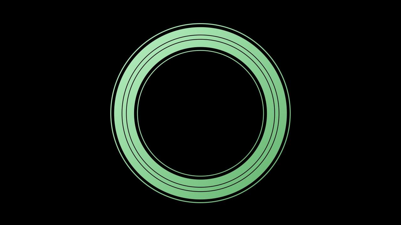 Wallpaper IPhone XS Gather Round Green 4K OS 20240