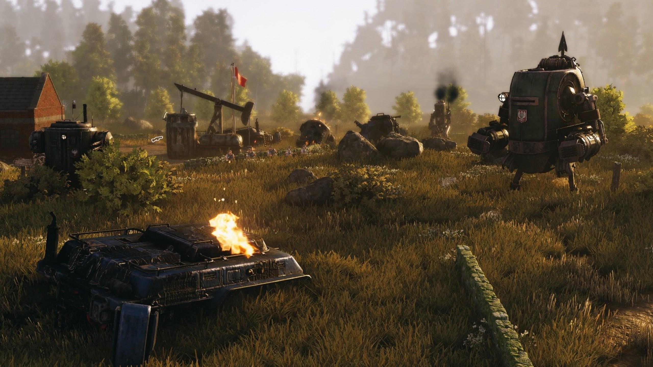 Wallpaper Iron Harvest screenshot 4k Games 16025