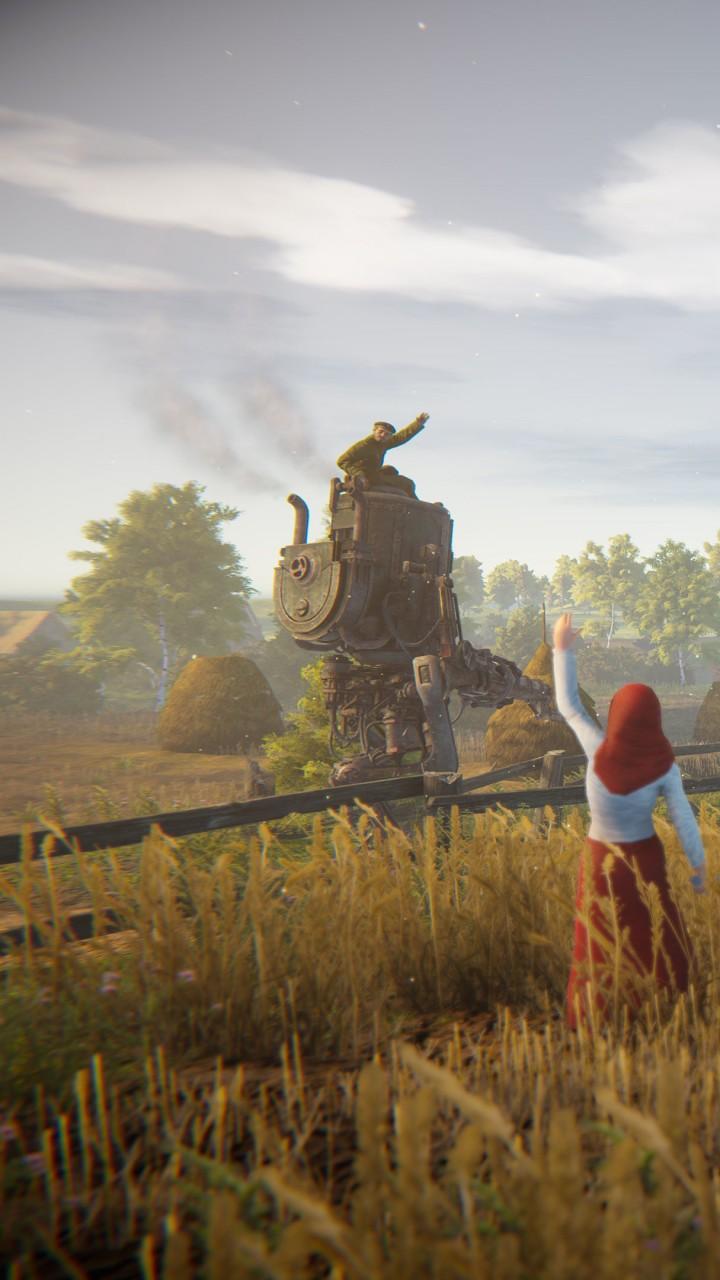 Wallpaper Iron Harvest, Screenshot, 4K, Games #21037