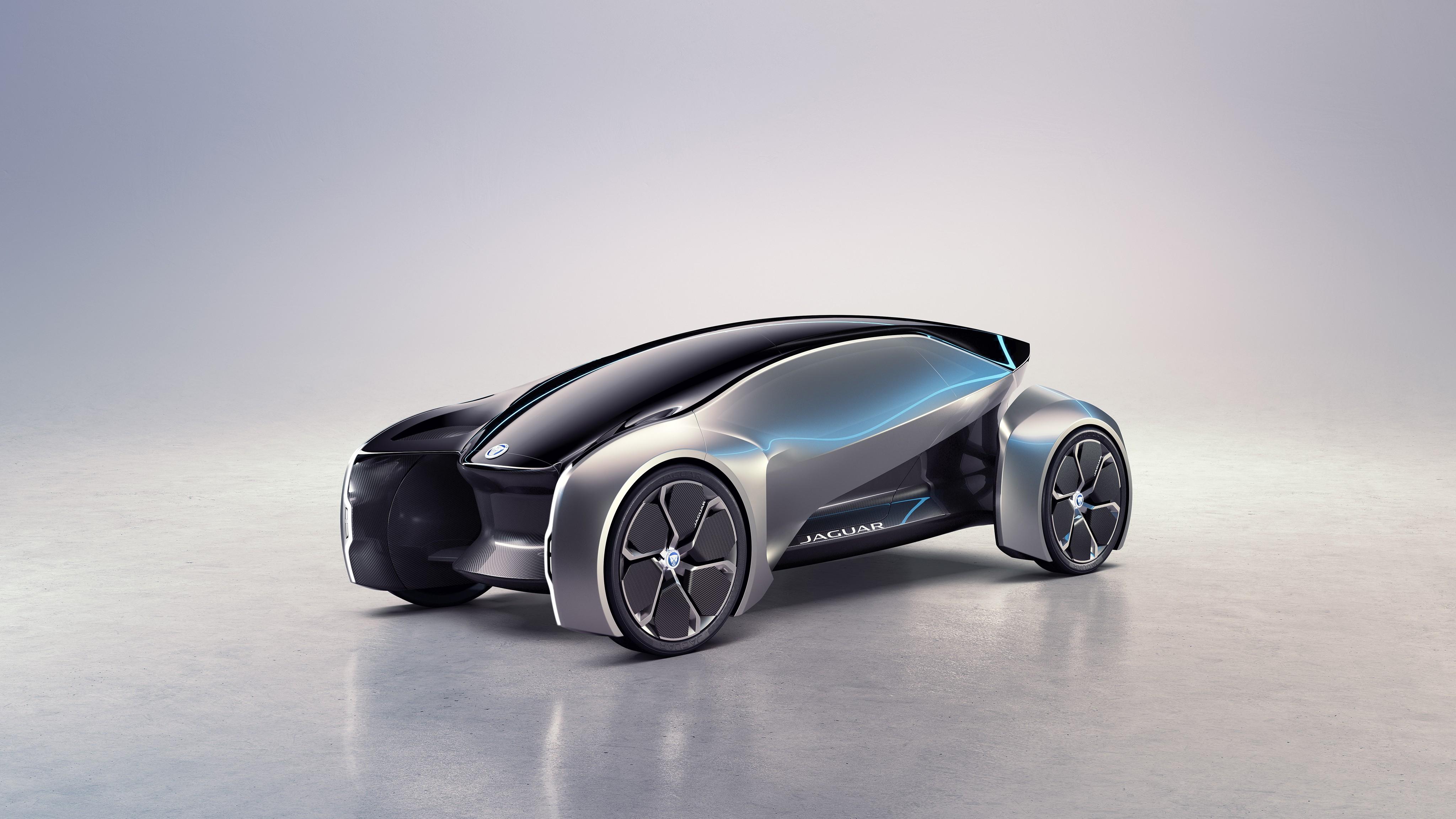 Wallpaper Jaguar Future-Type, electric car, 4k, Cars & Bikes #15680