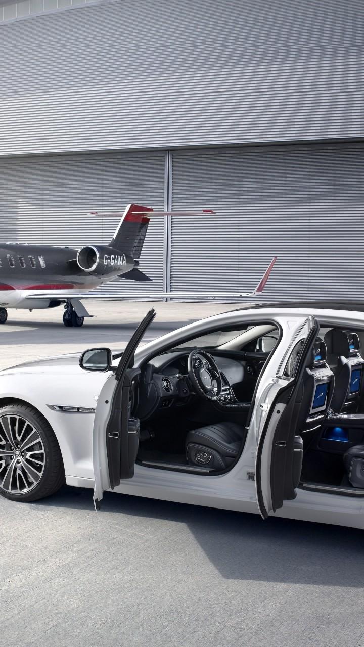 Wallpaper Jaguar Xj X351 Luxury Cars Sports Car
