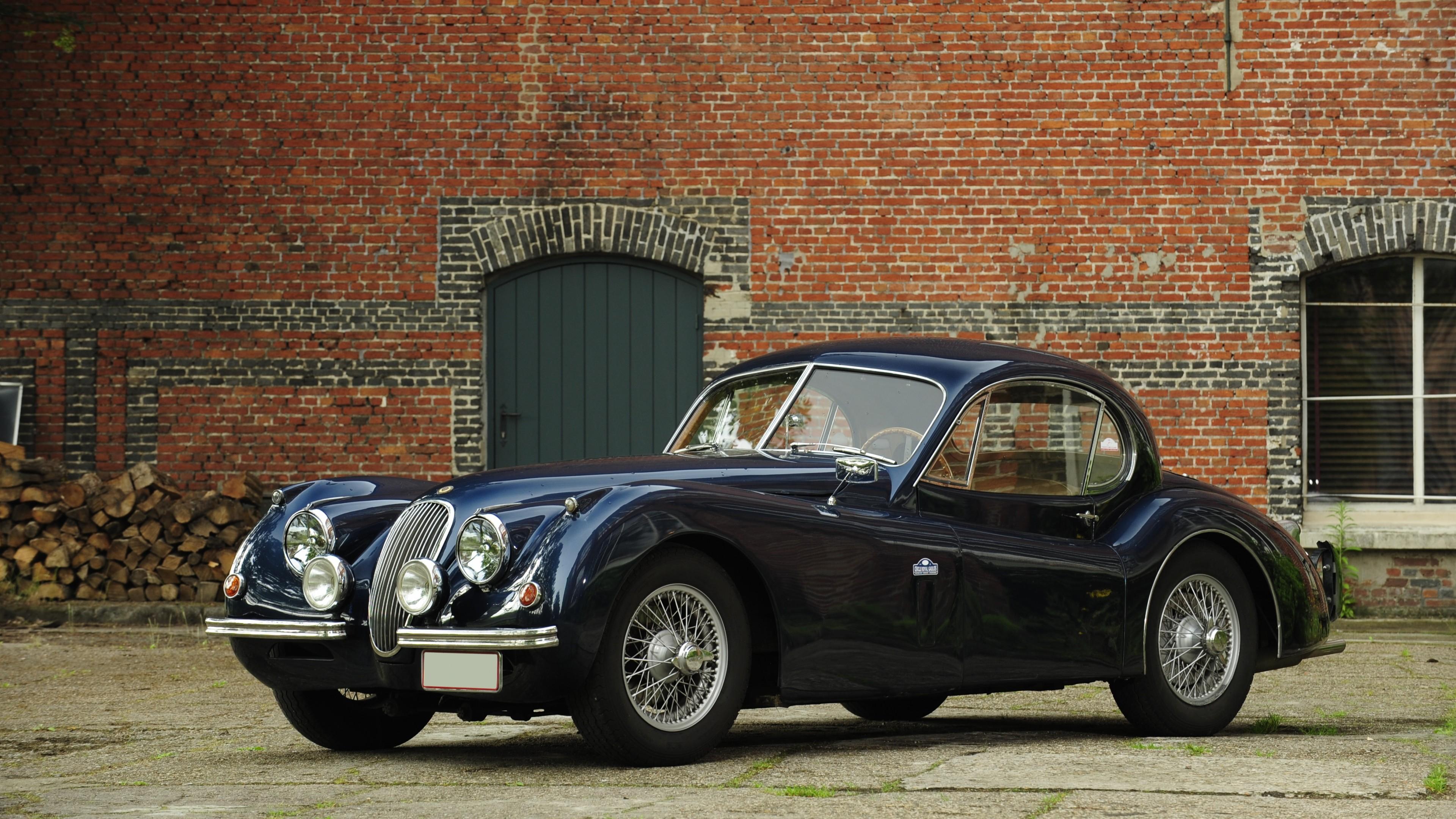 Wallpaper Jaguar Xk120 Classic Cars Jaguar Retro