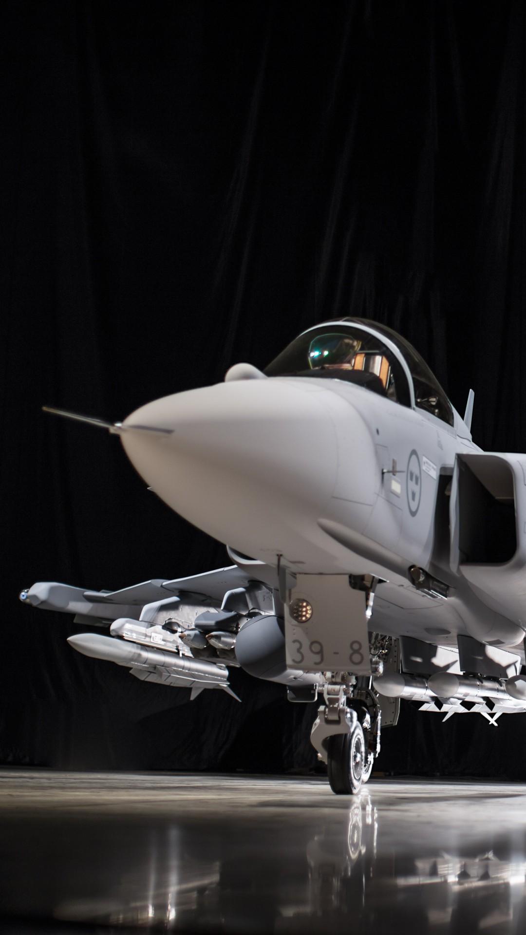 Wallpaper Jas 39e Gripen Fighter Aircraft Swedish Air