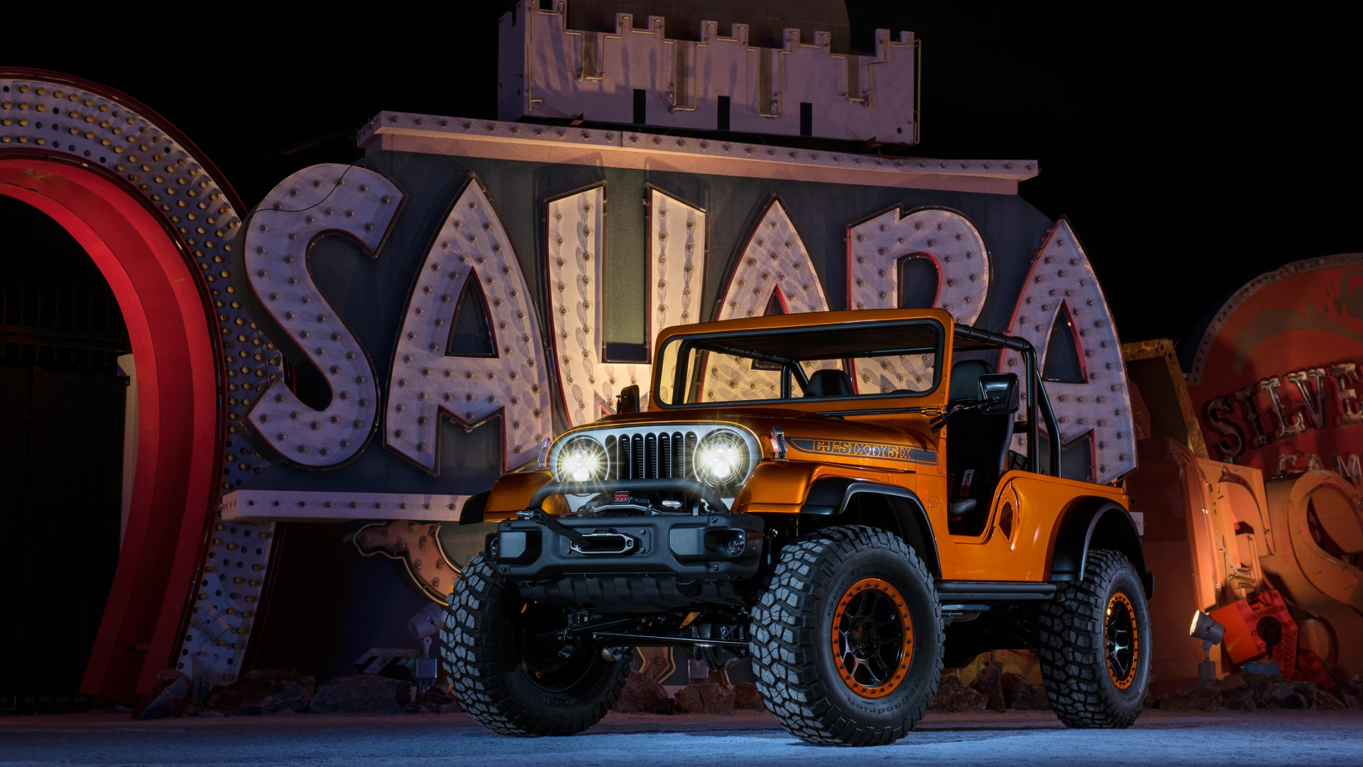 Wallpaper Jeep CJ66, Jeep Wrangler, SUV, front, Cars ...