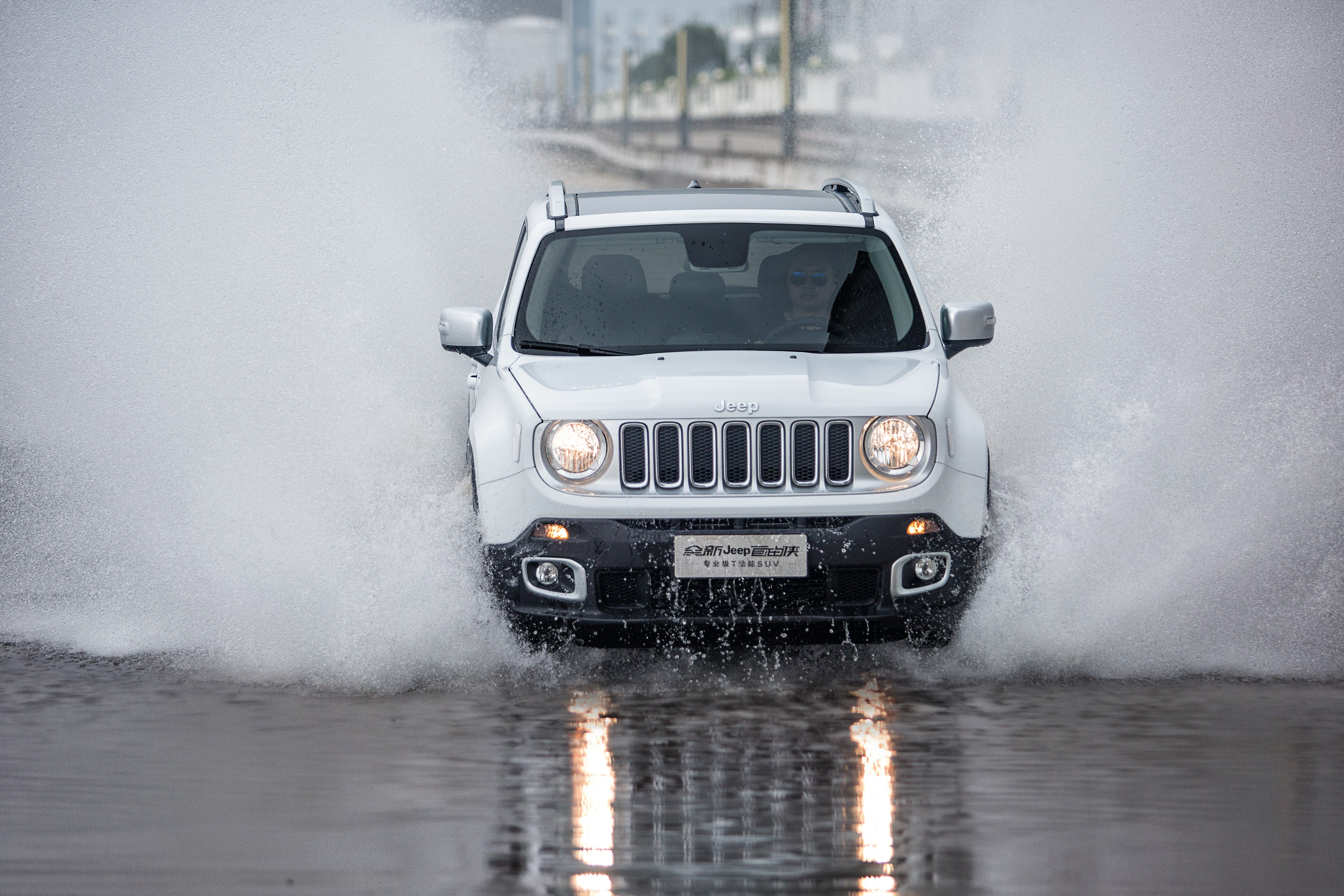Jeep Renegade Limited X Spray White on 2016 Jeep Renegade Limited