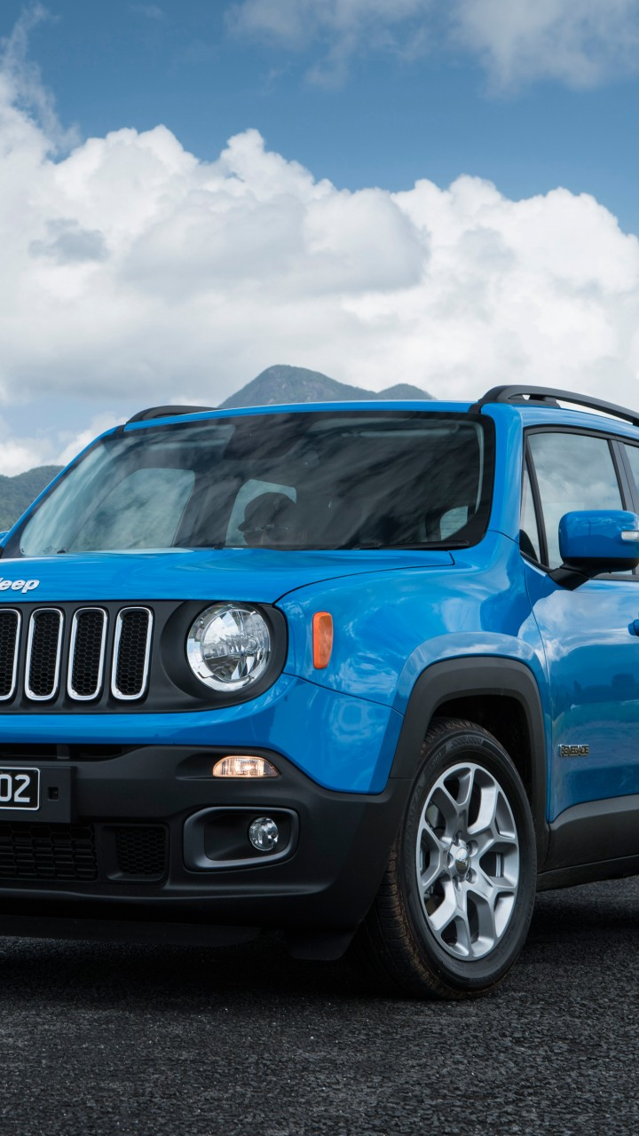 Jeep In Snow >> Wallpaper Jeep Renegade Longitude, blue, SUV, Cars & Bikes ...