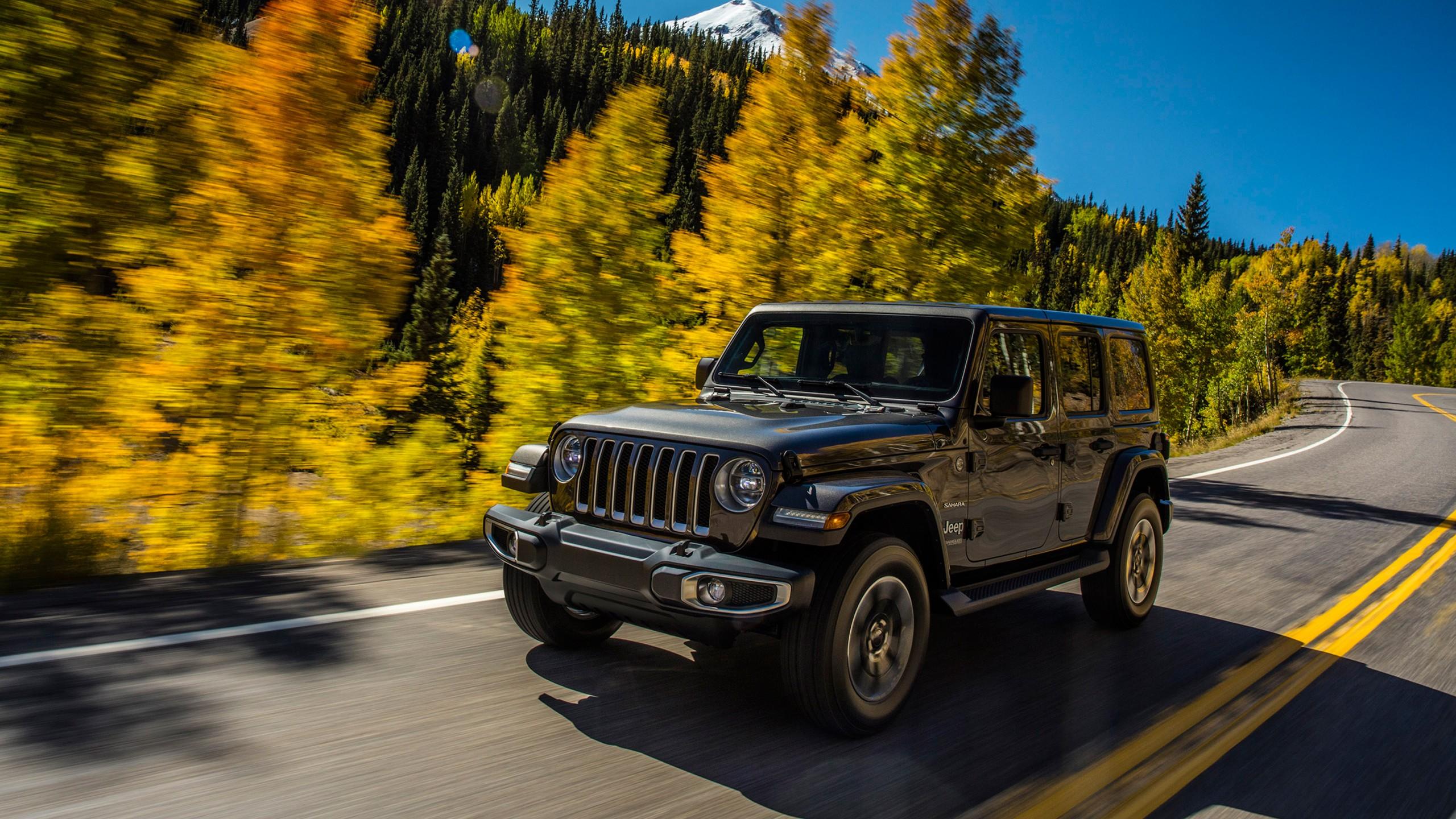 Jeep Wrangler, SUV, 2019 Cars, 4K