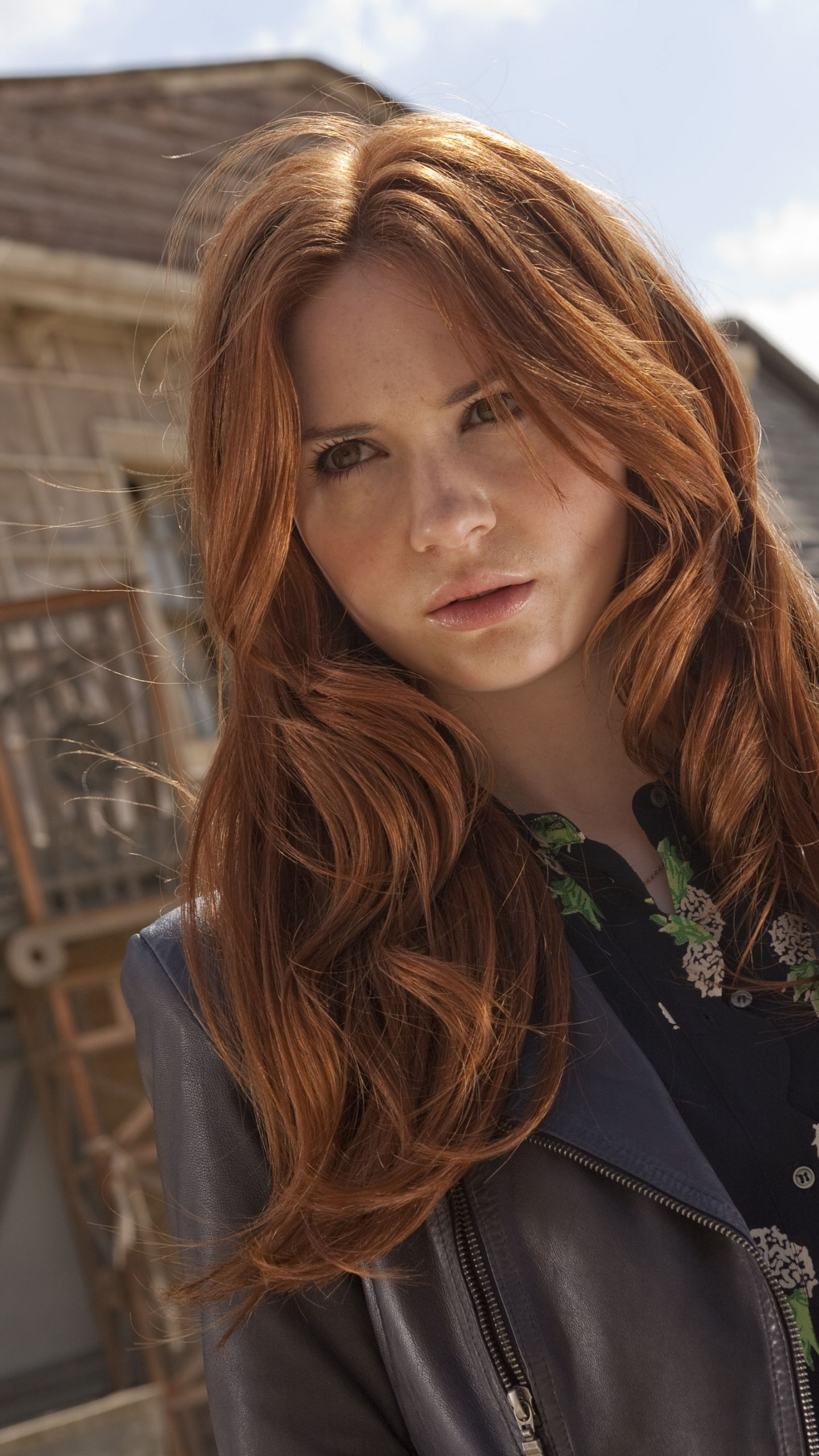 Most Popular Teen Girl Hairstyles: Wallpaper Karen Gillan, Most Popular Celebs, Actress