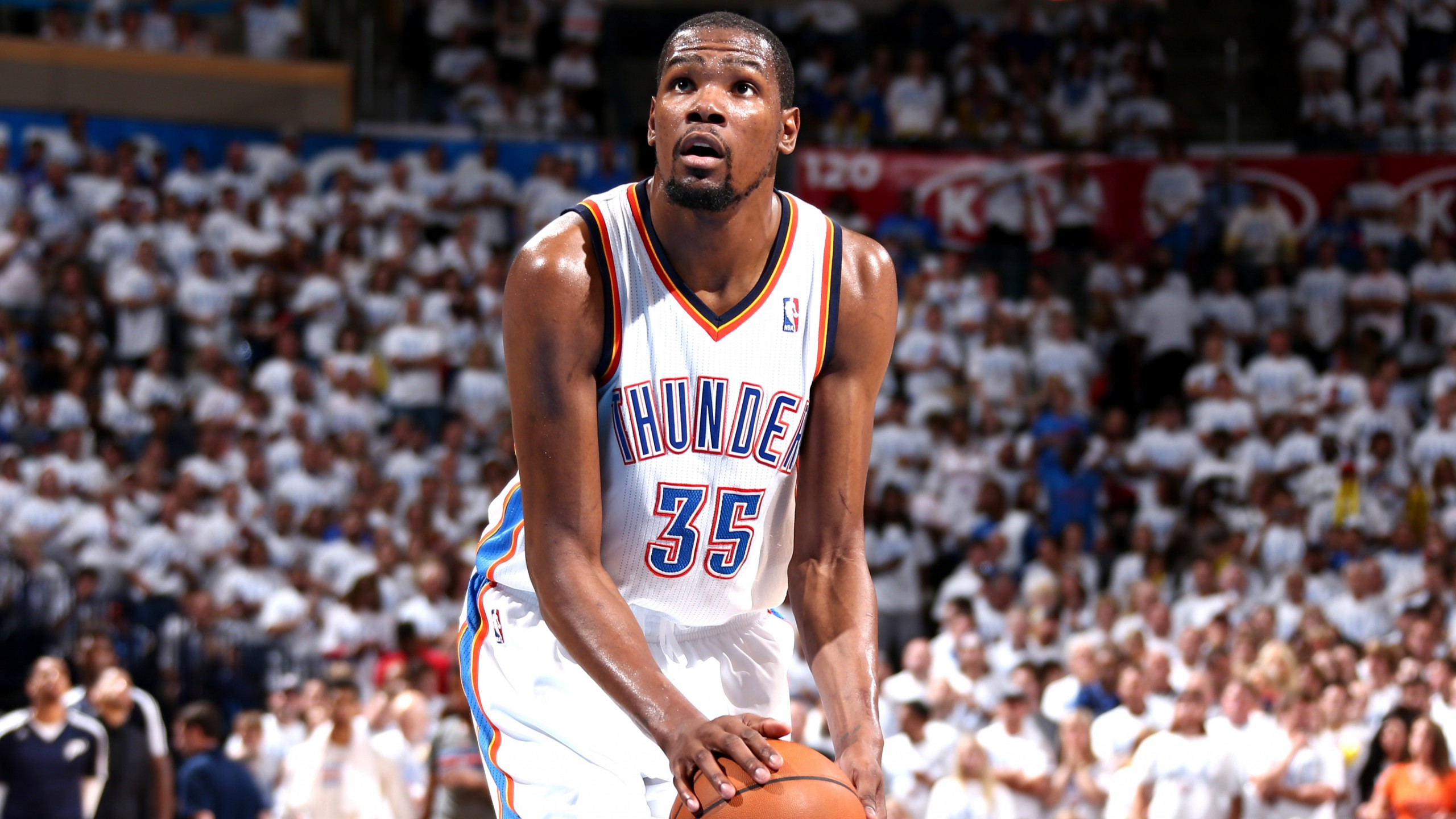 Wallpaper Kevin Durant Golden State Warriors Basketball NBA 4K
