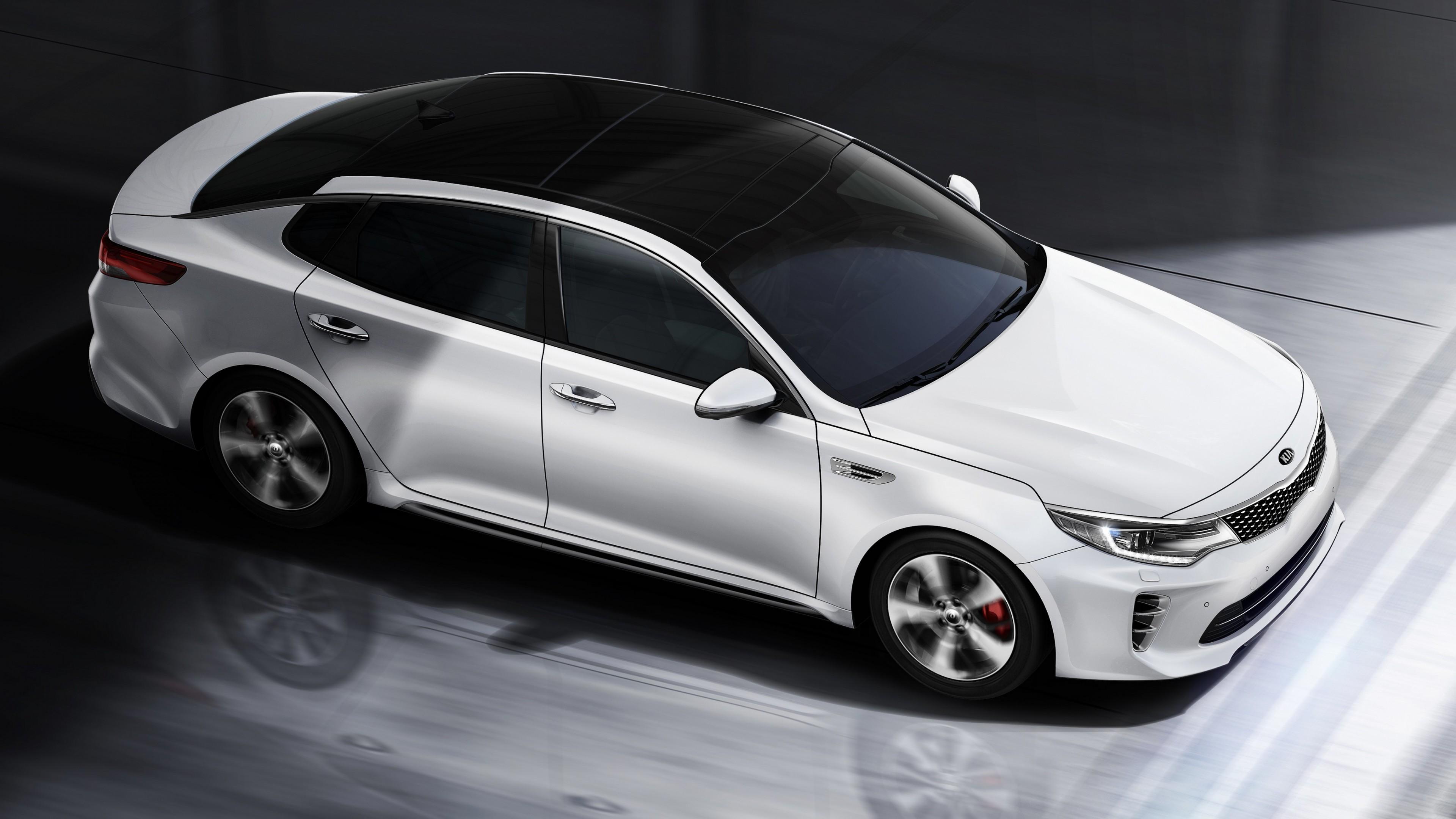 Wallpaper Kia Optima Gt  Supercar  White  Luxury Cars  Sports Car  Test Drive  Cars  U0026 Bikes  7545