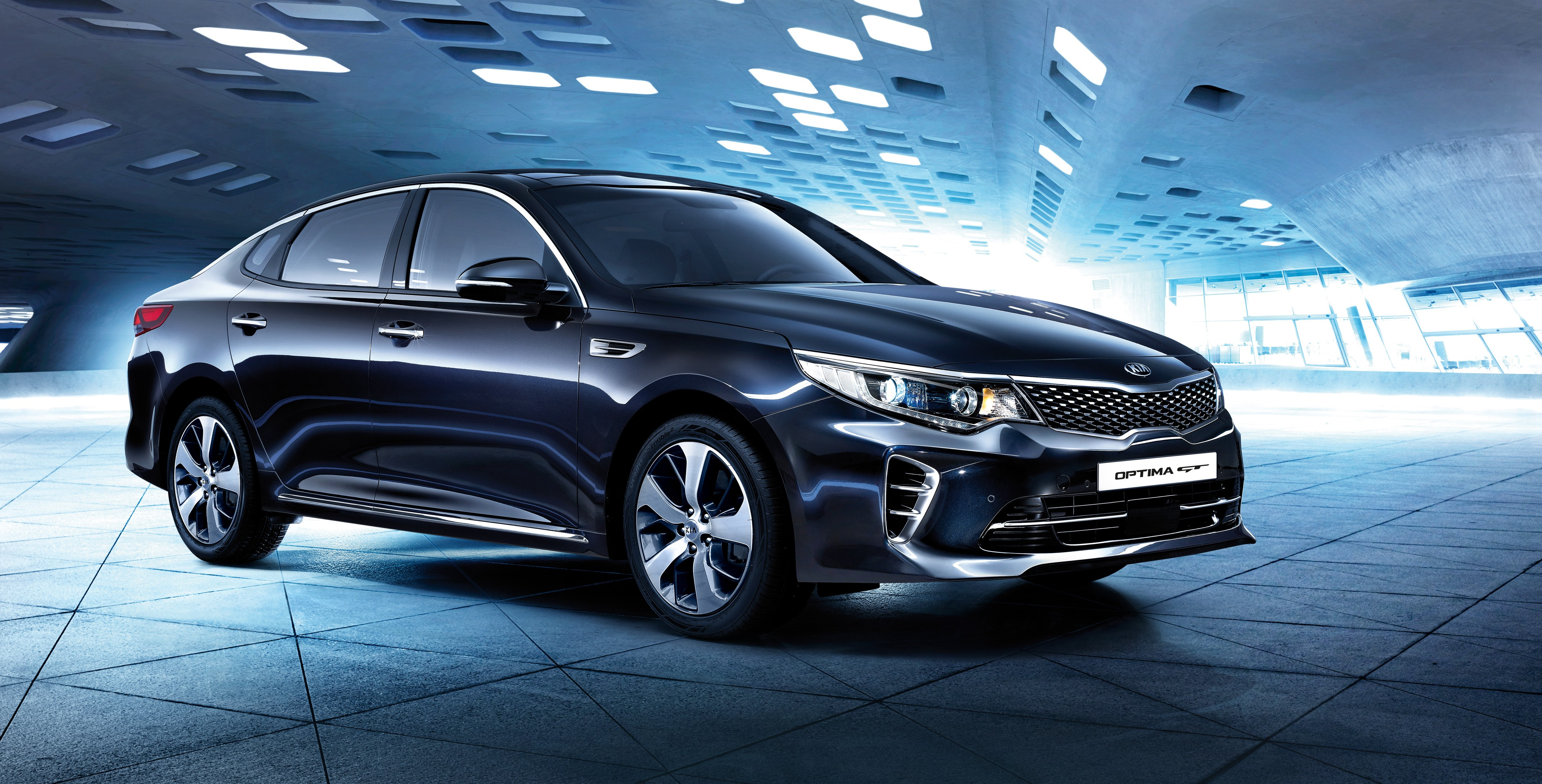 Black Luxury Vehicles: Wallpaper Kia Optima GT, Supercar, Black, Luxury Cars