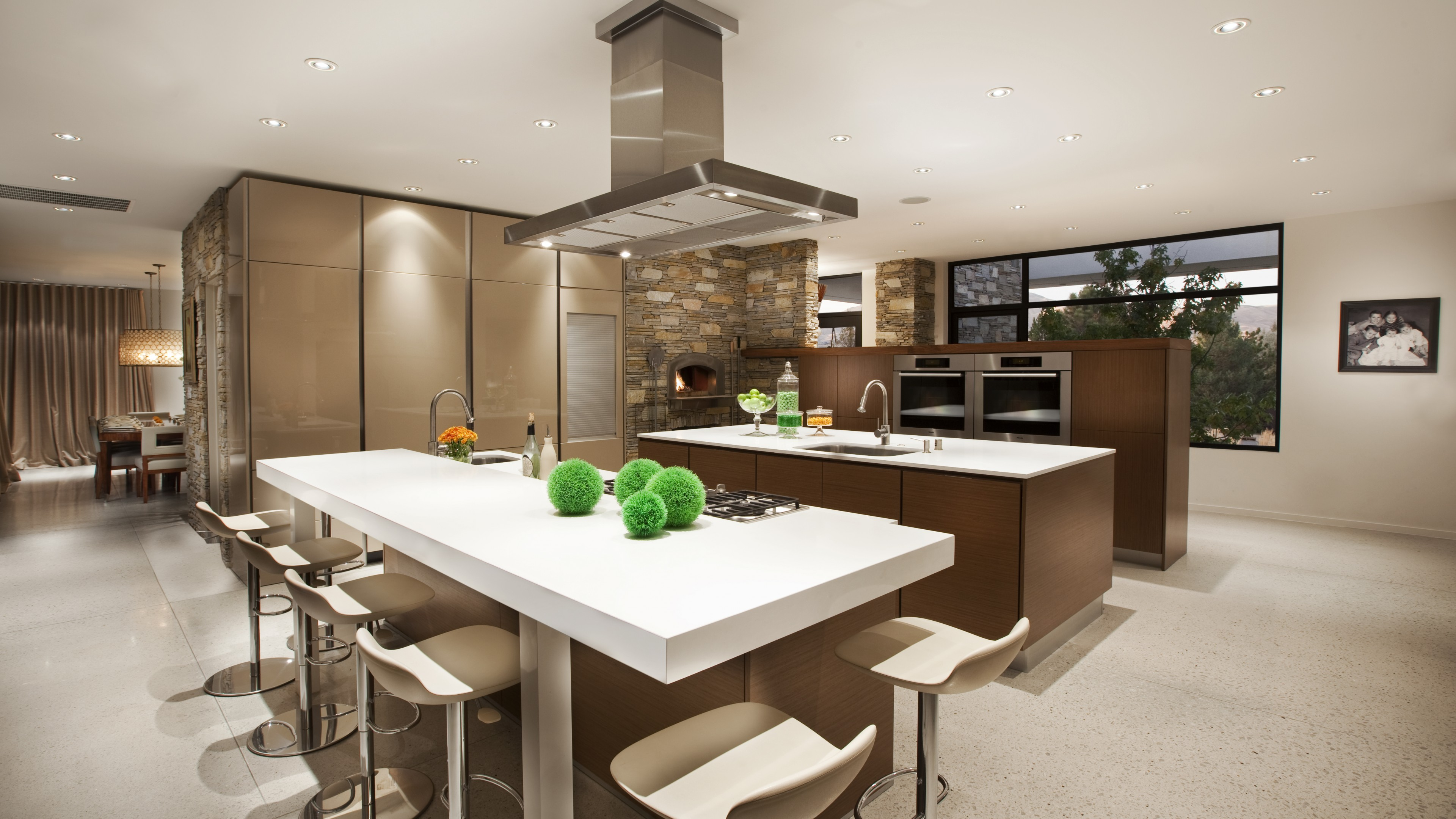 Wallpaper Kitchen Living Room House Classic Elegant