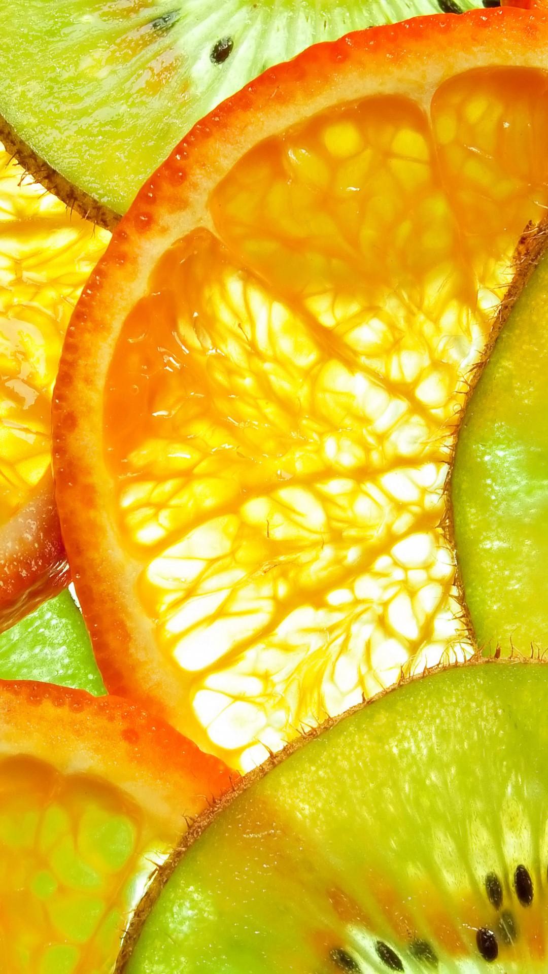 Wallpaper Kiwi Orange Fruit 5k Food 15353