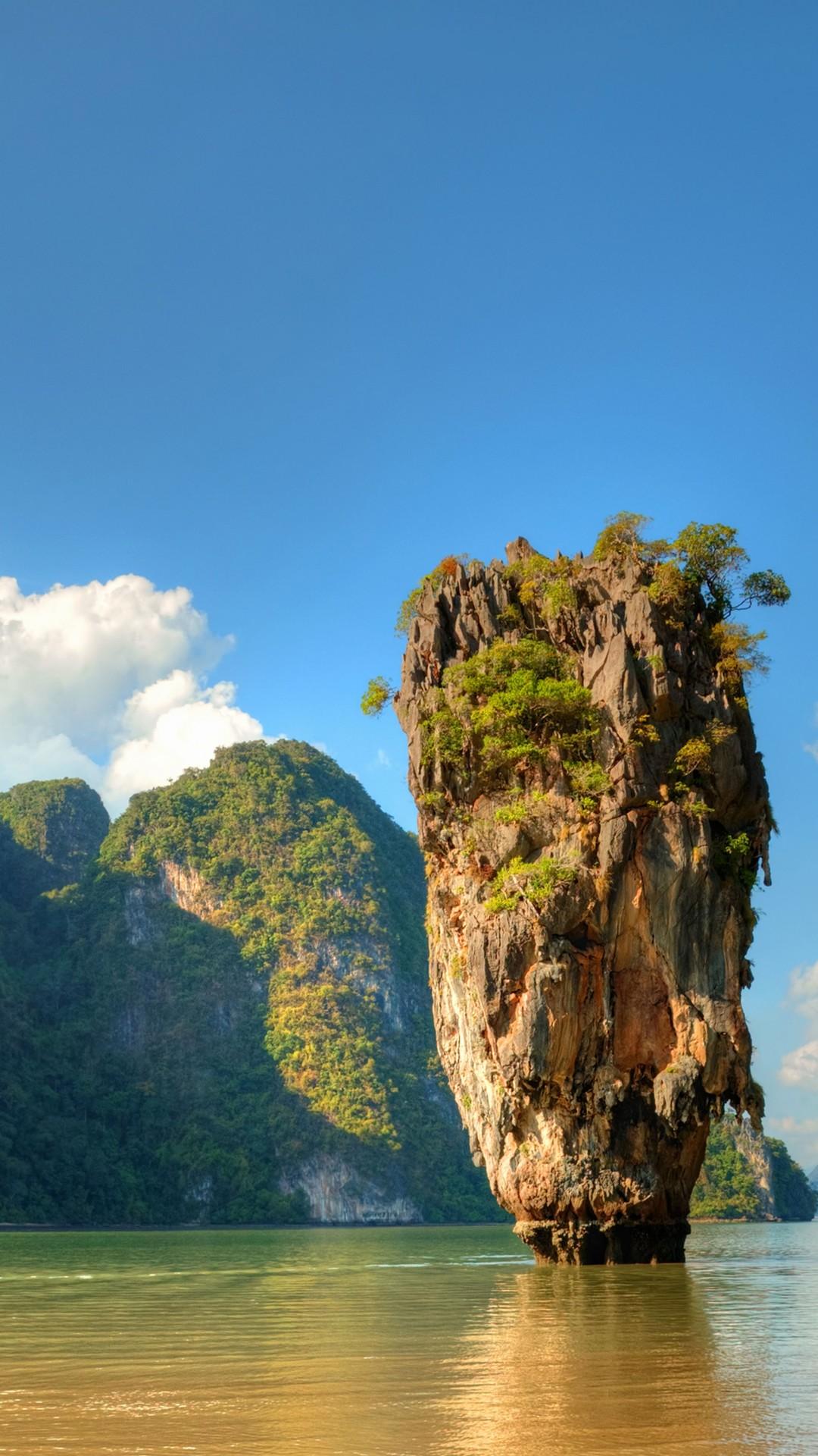 Best Mountain Bikes >> Wallpaper Ko Tapu, Thailand, islands, mountains, rocks, ocean, 5k, Travel #16556